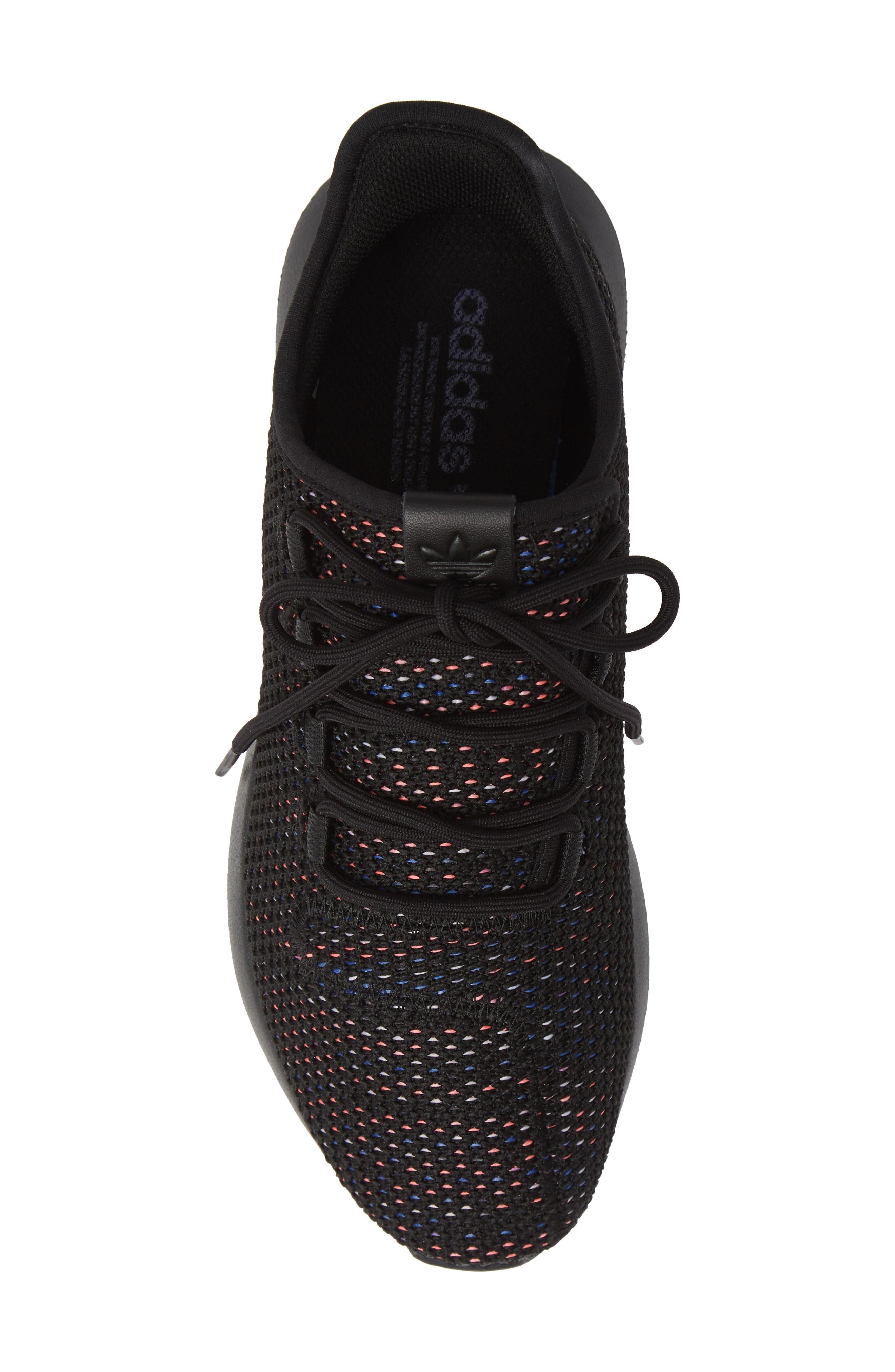Tubular Shadow CK Sneaker,                             Alternate thumbnail 5, color,                             BLACK/ SOLAR RED/ MYSTERY INK