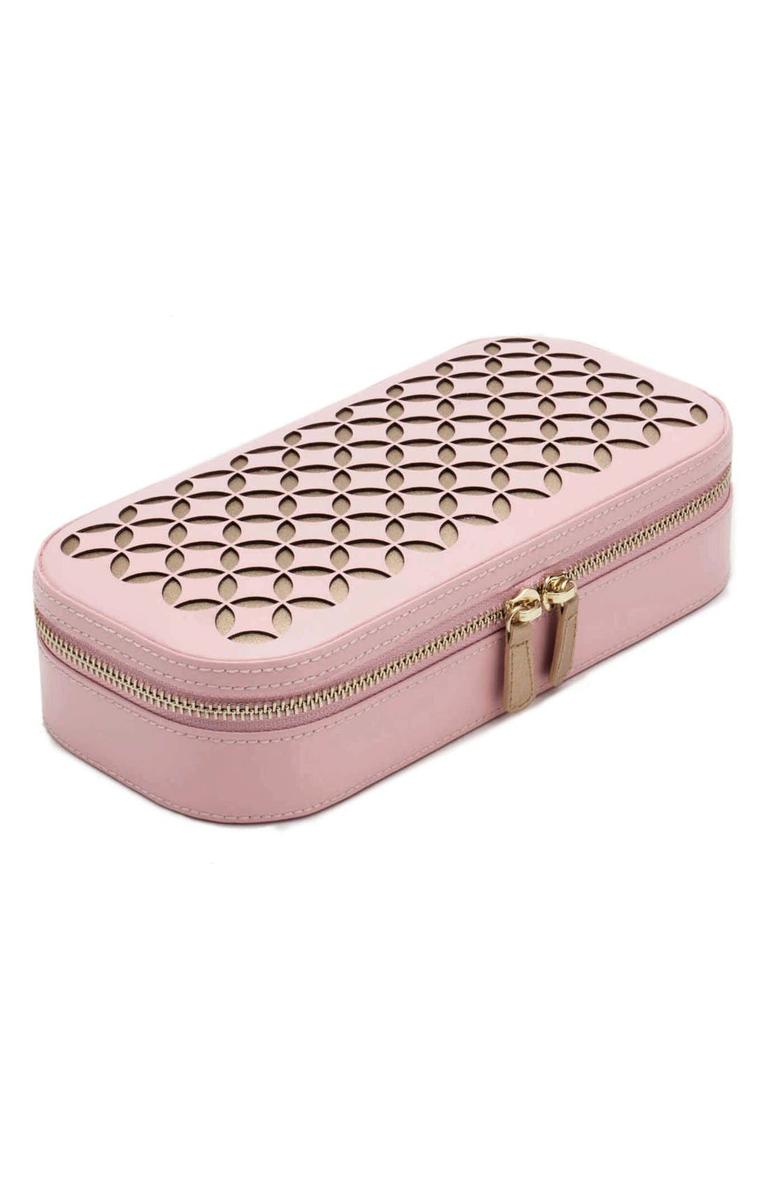 Chloe Zip Jewelry Case,                             Alternate thumbnail 2, color,                             650