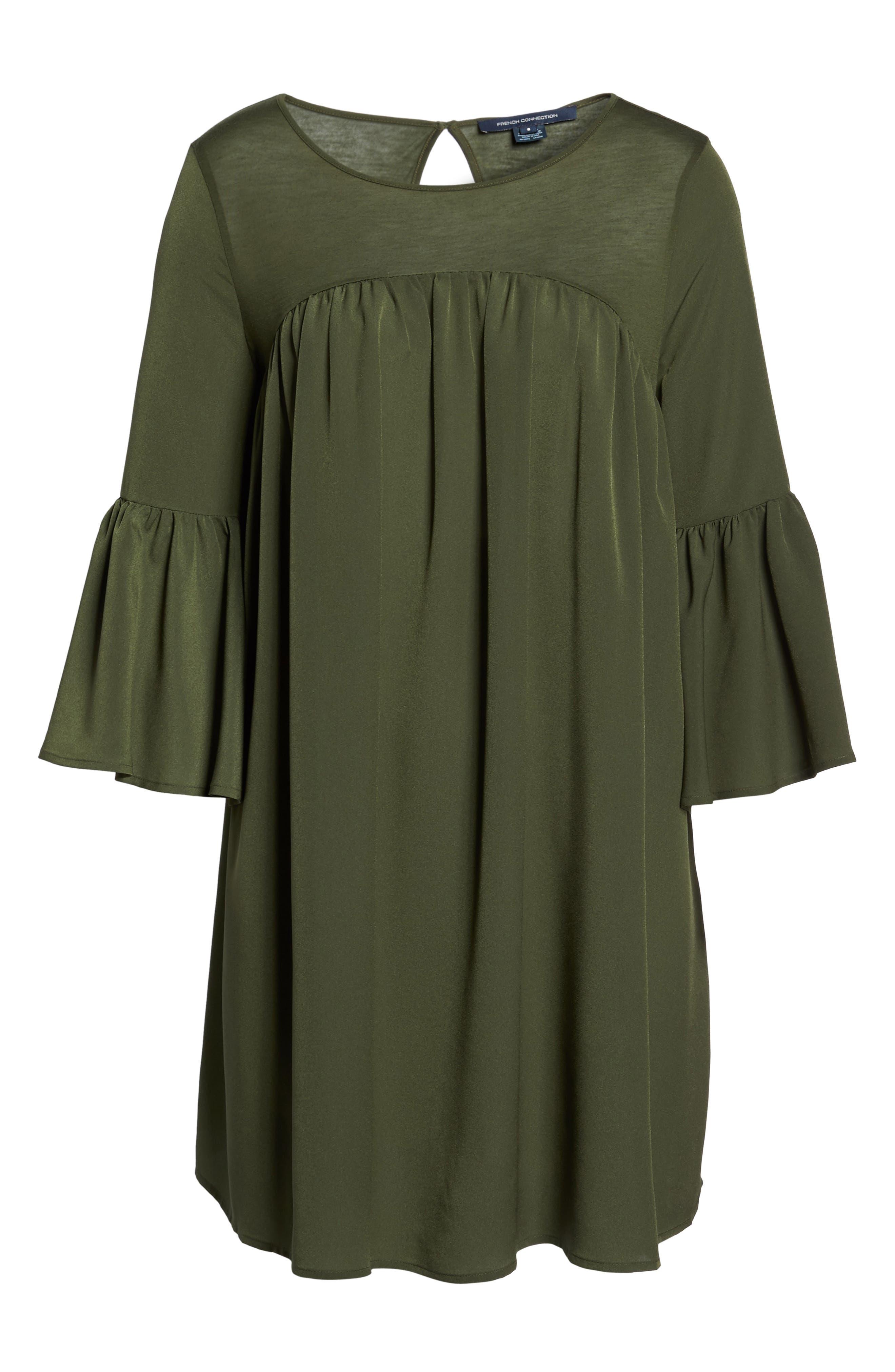 Polly Plains Shift Dress,                             Alternate thumbnail 12, color,