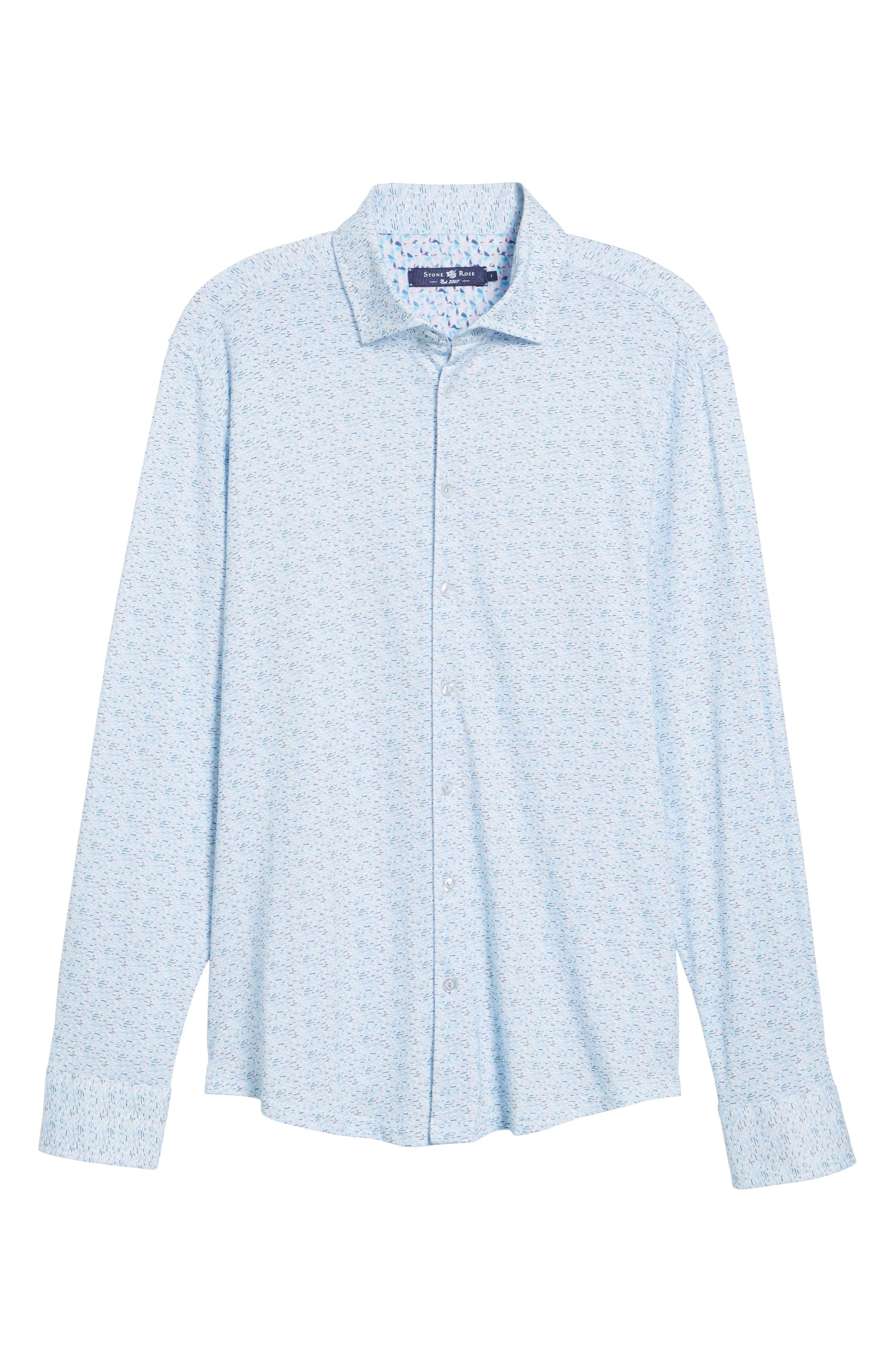 STONE ROSE,                             Contemporary Fit Print Sport Shirt,                             Alternate thumbnail 6, color,                             400