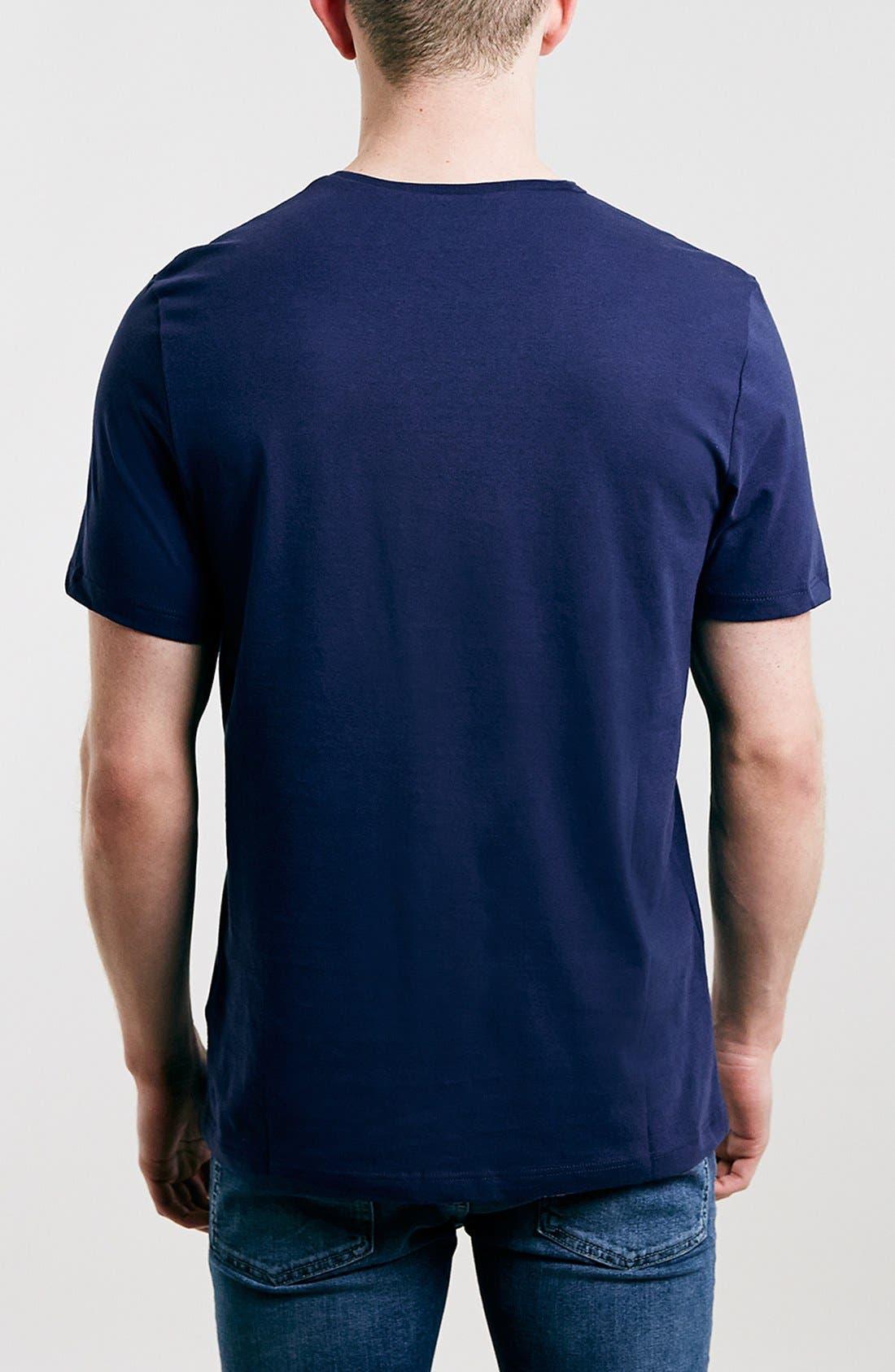 Slim Fit Crewneck T-Shirt,                             Alternate thumbnail 248, color,