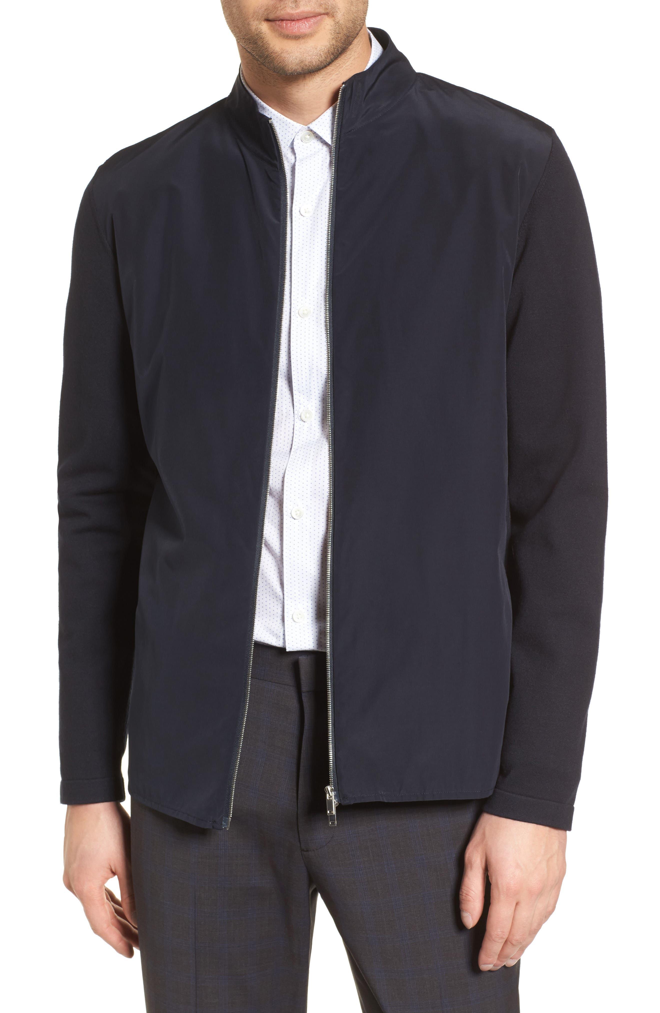 THEORY Bellvill PK Fine Bilen Jacket, Main, color, ECLIPSE MULTI
