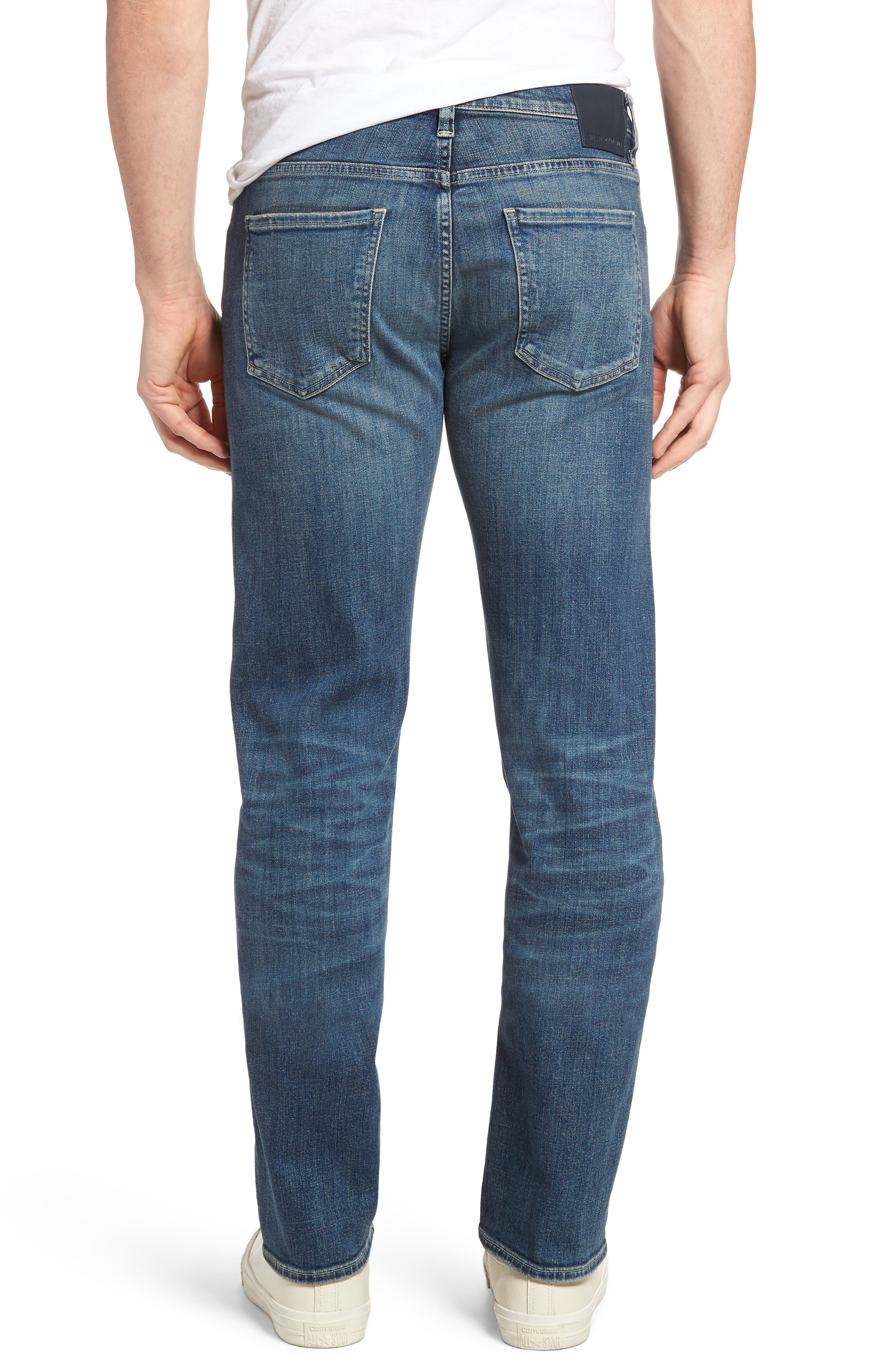 Sid Straight Leg Jeans,                             Alternate thumbnail 2, color,                             REDFORD