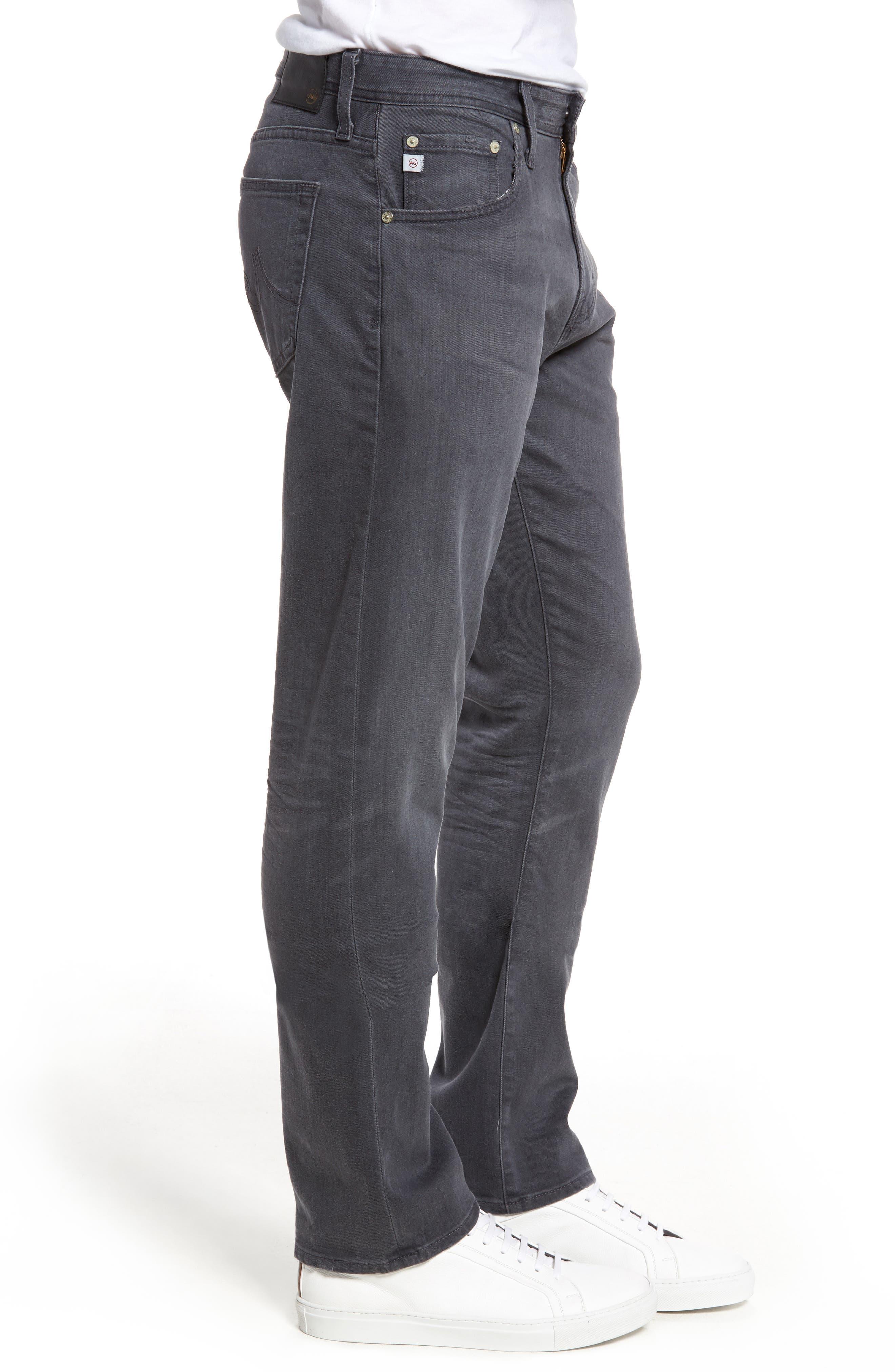 Ives Straight Leg Jeans,                             Alternate thumbnail 3, color,                             020