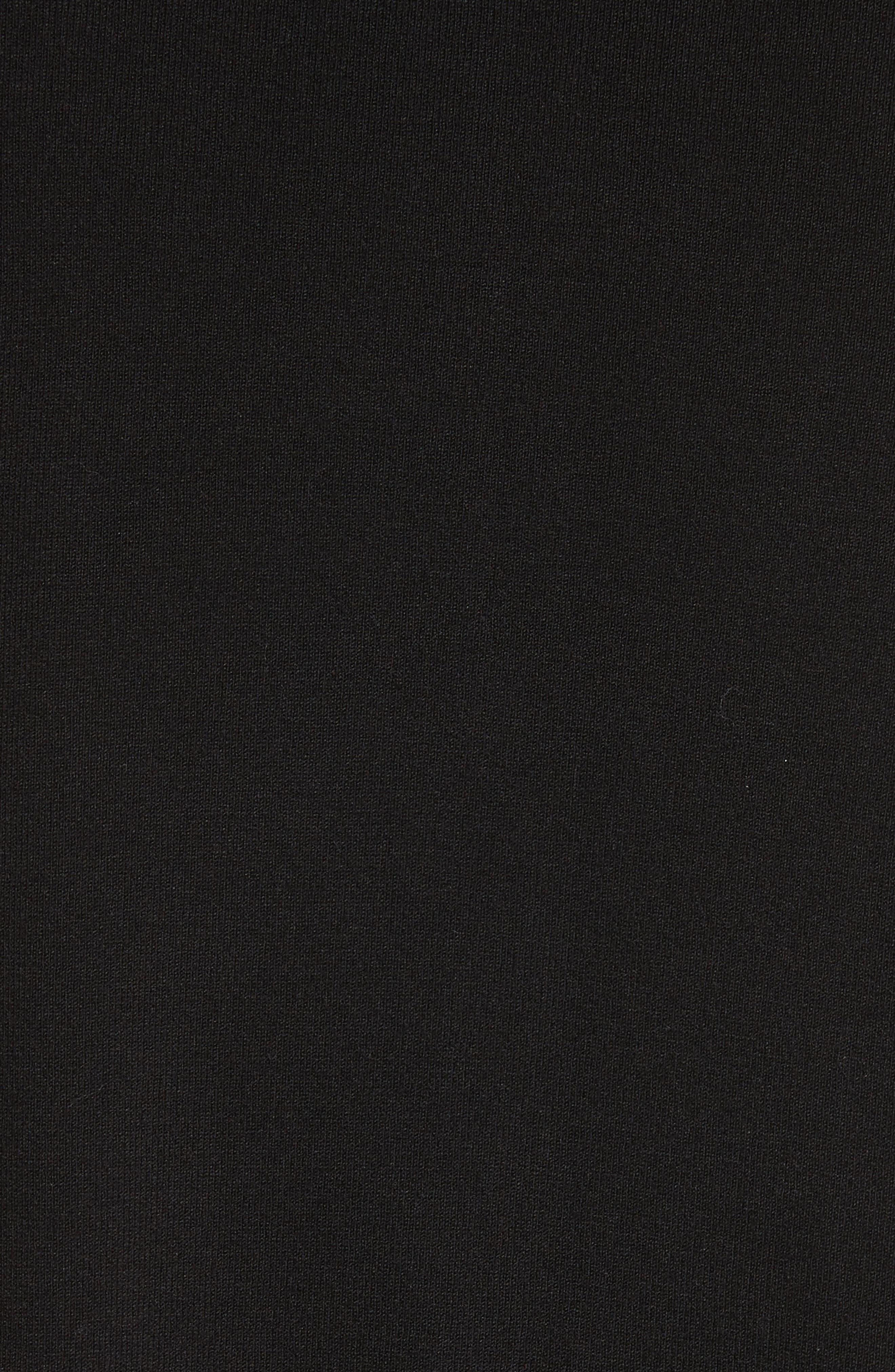 Maglia Tricot Cardigan,                             Alternate thumbnail 5, color,                             BLACK