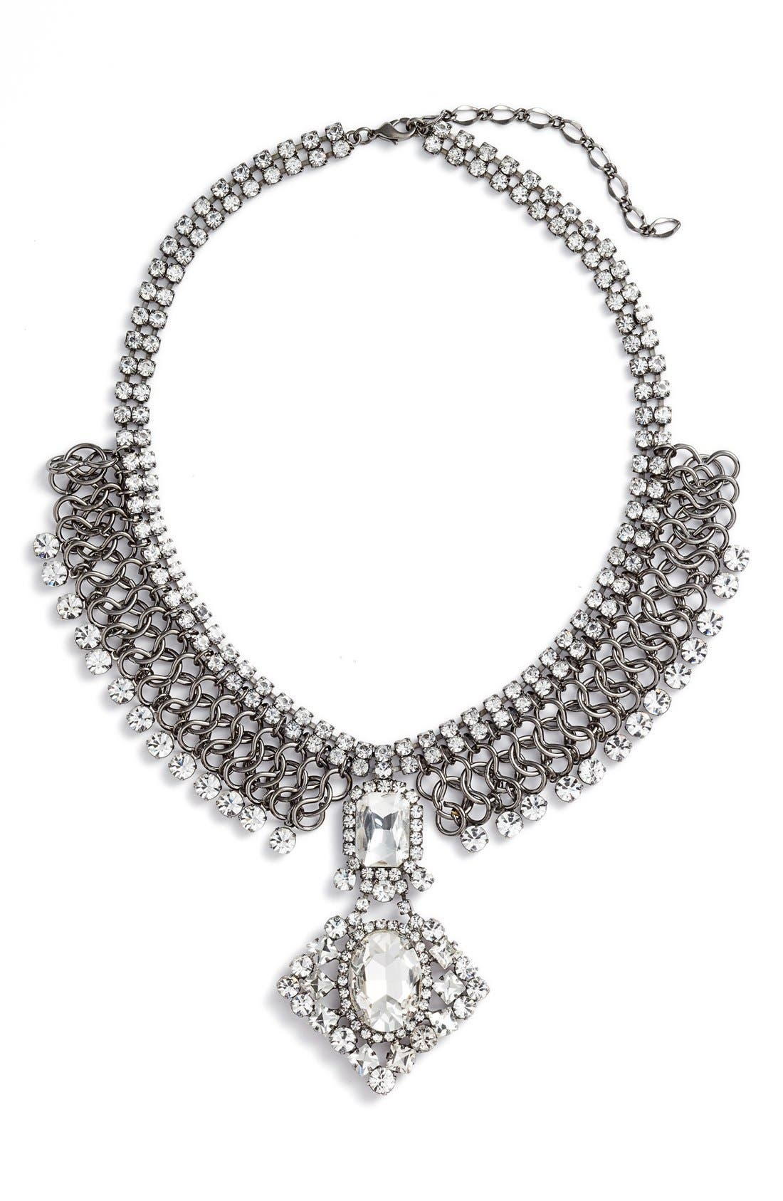 Statement Collar Necklace,                         Main,                         color, 040