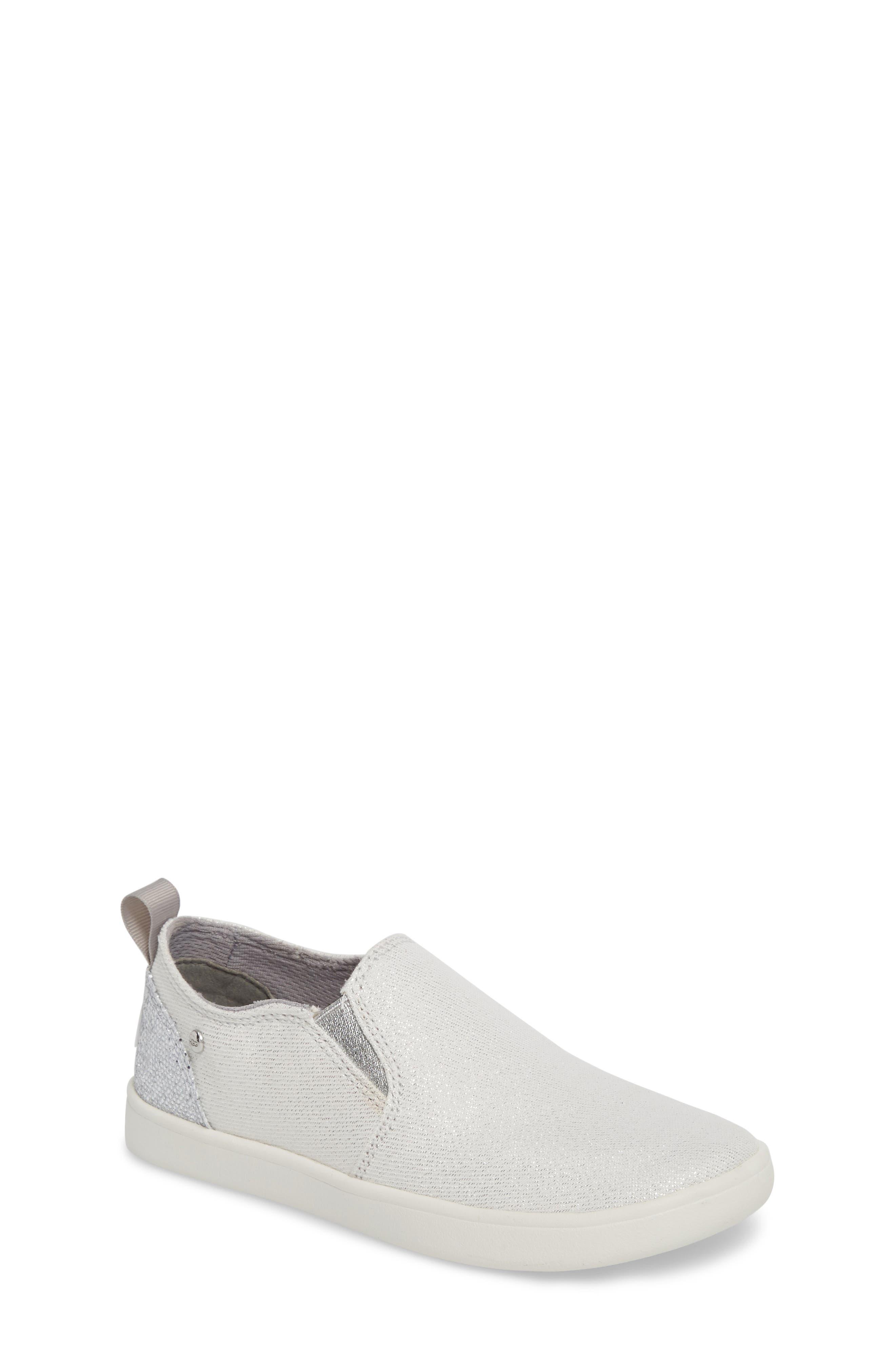 Gantry Sparkles Slip-On Sneaker,                             Main thumbnail 1, color,                             SILVER