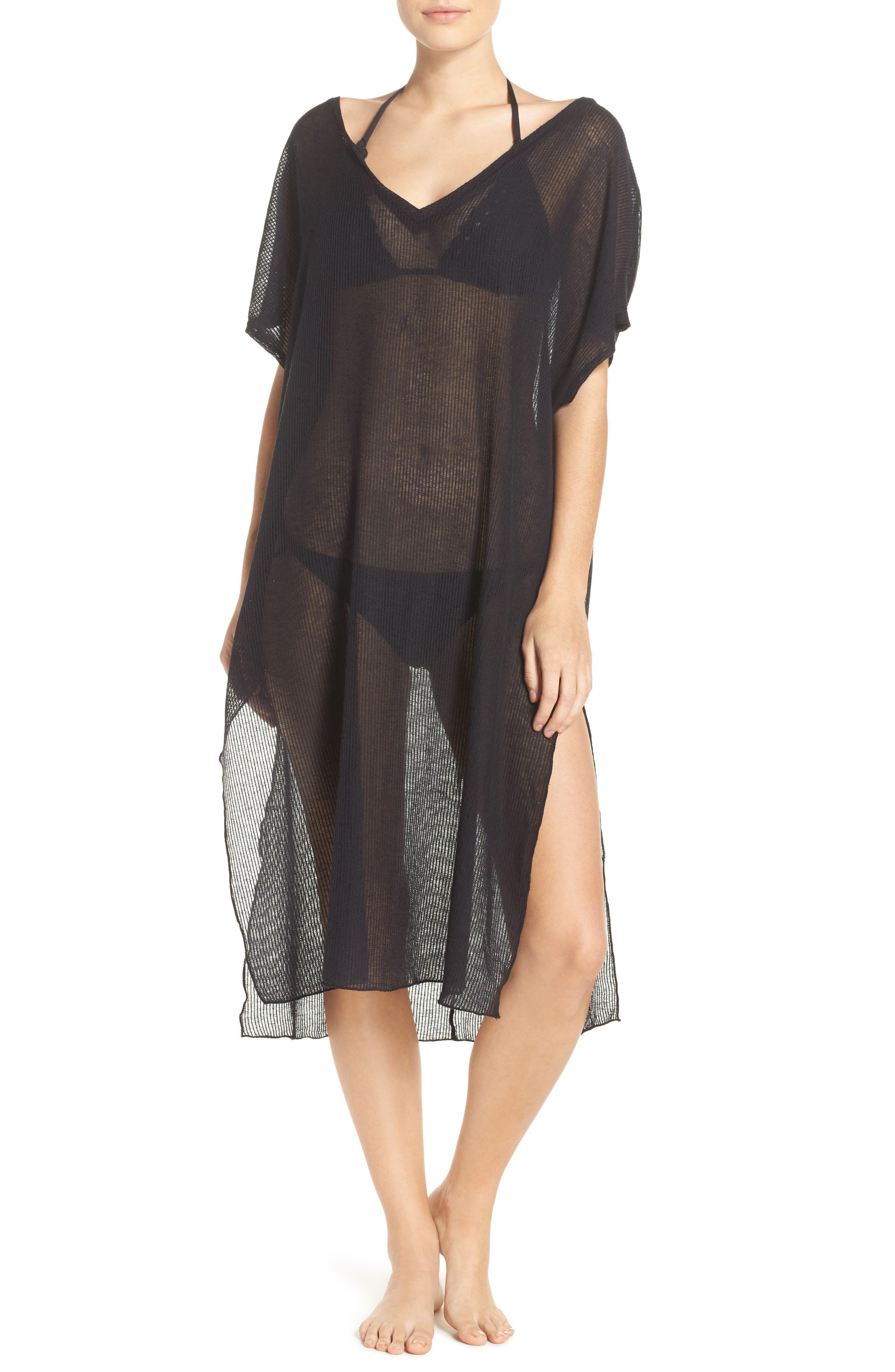 BECCA,                             By the Sea Cover-Up Tunic,                             Alternate thumbnail 2, color,                             001