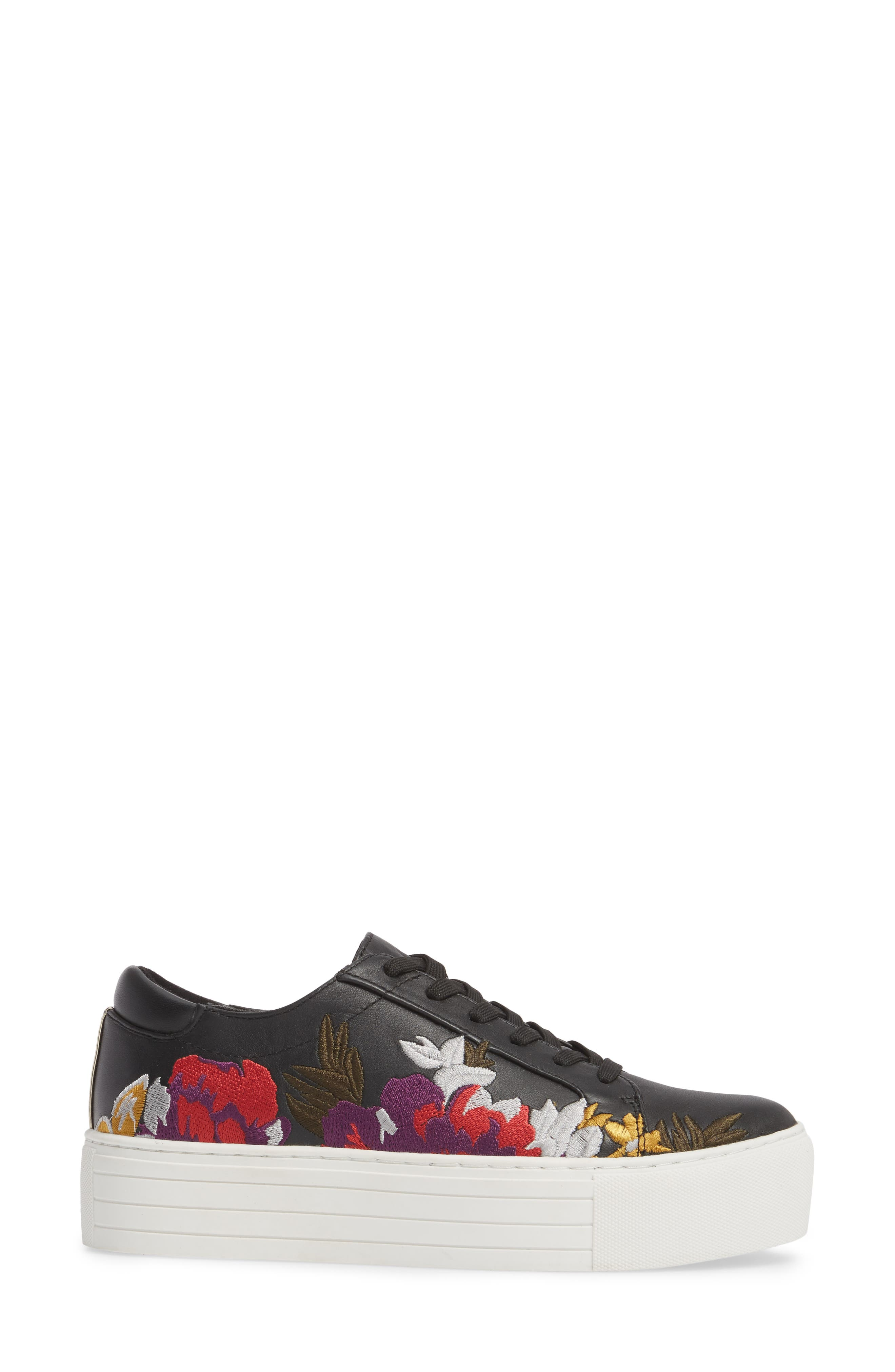 Abbey Platform Sneaker,                             Alternate thumbnail 3, color,                             002