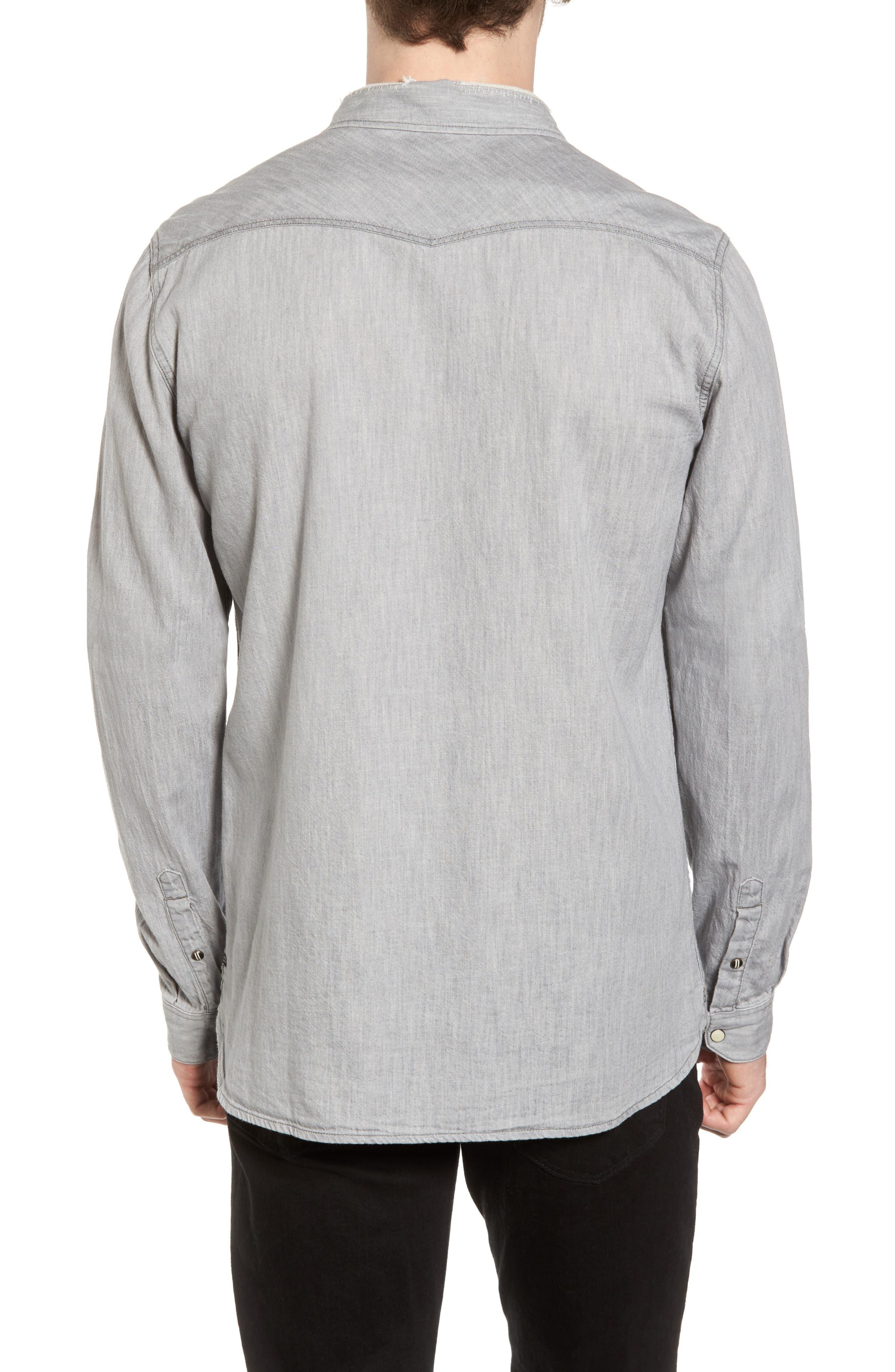 Classic Western Shirt,                             Alternate thumbnail 2, color,                             020
