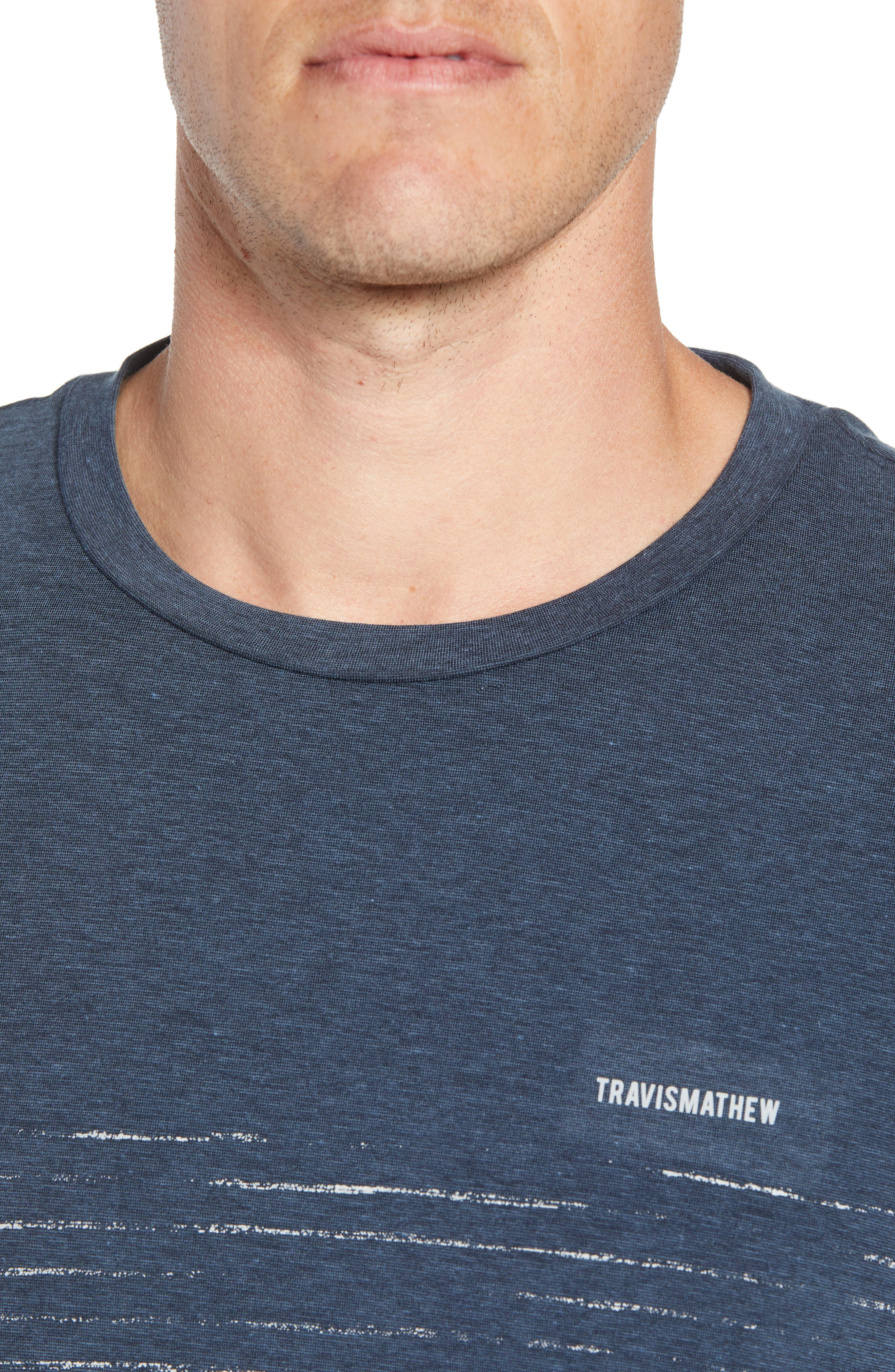 Laze T-Shirt,                             Alternate thumbnail 4, color,                             TRUE NAVY/ BLACK