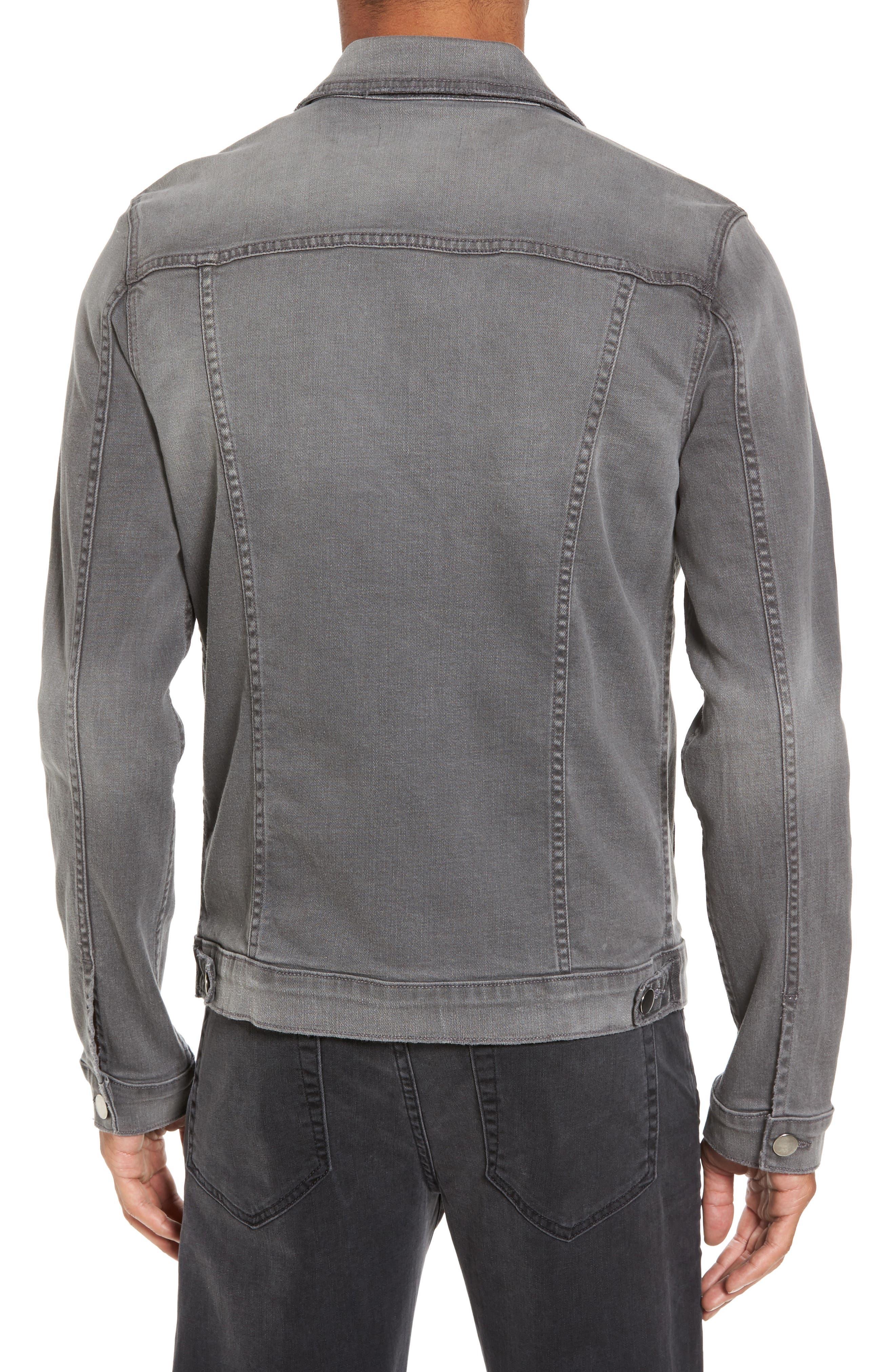 L'Homme Denim Jacket,                             Alternate thumbnail 2, color,                             GRAYSON