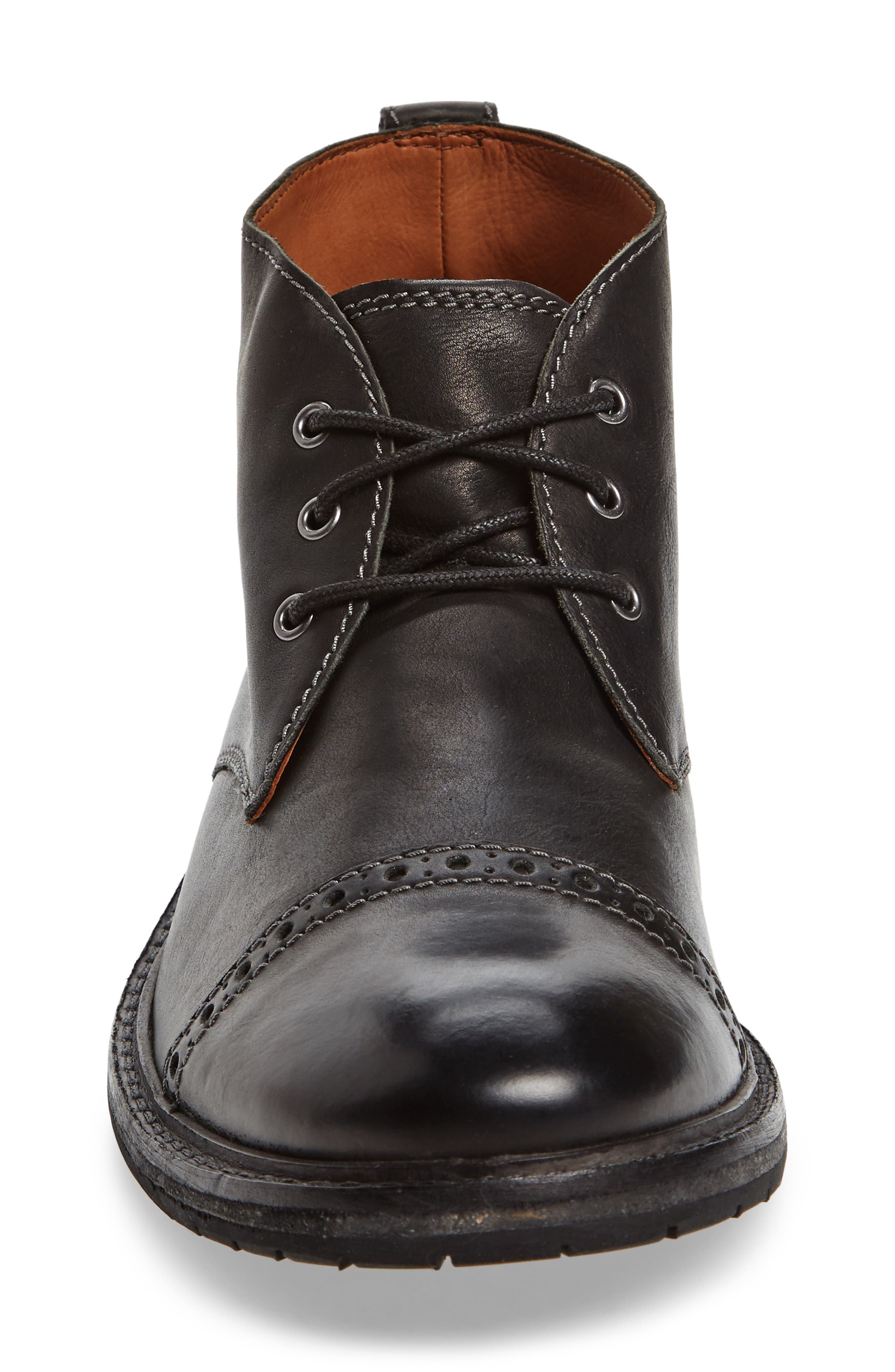 Clarkdale Water Resistant Chukka Boot,                             Alternate thumbnail 4, color,                             003