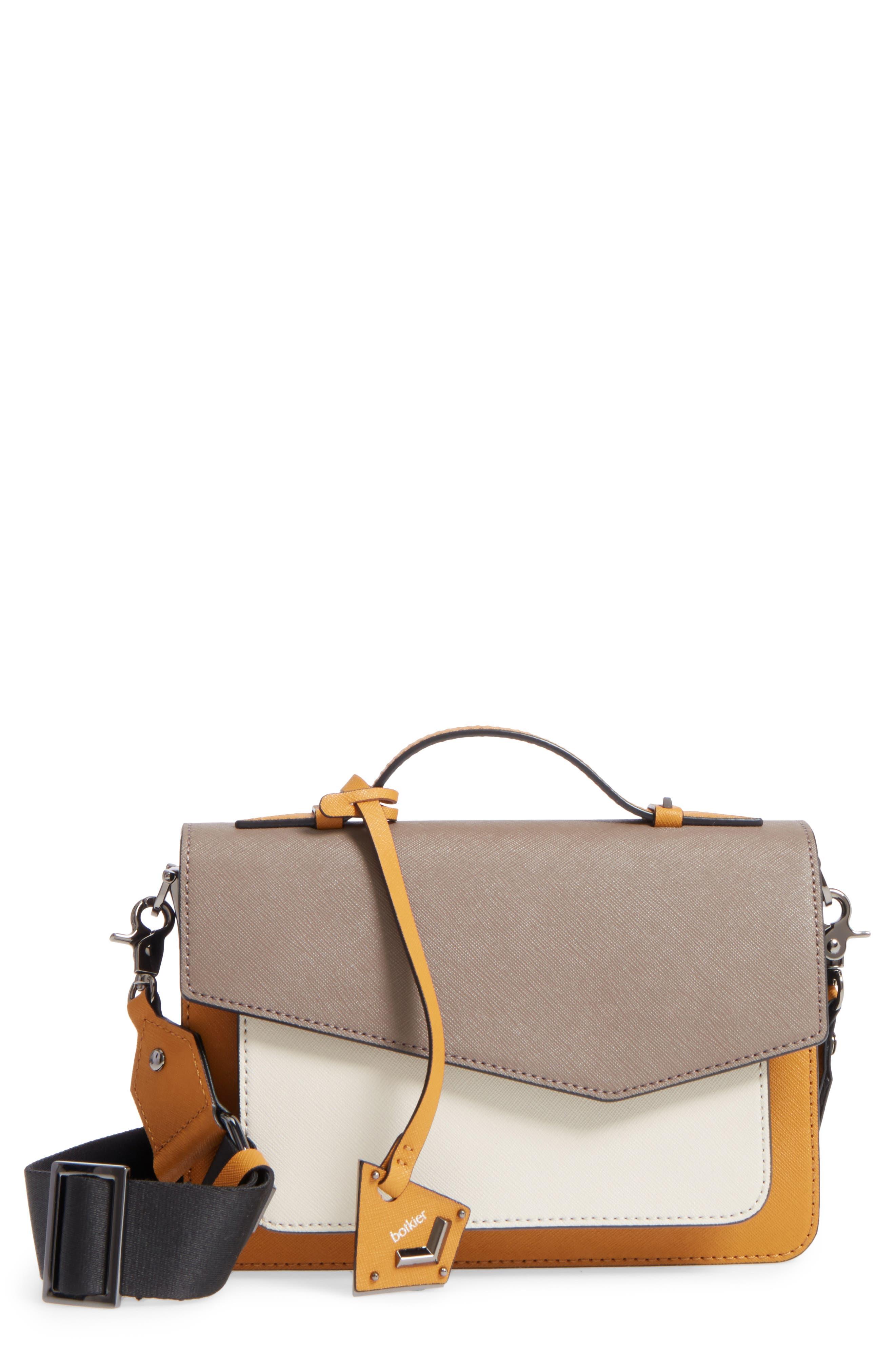 Cobble Hill Leather Crossbody Bag,                             Main thumbnail 6, color,