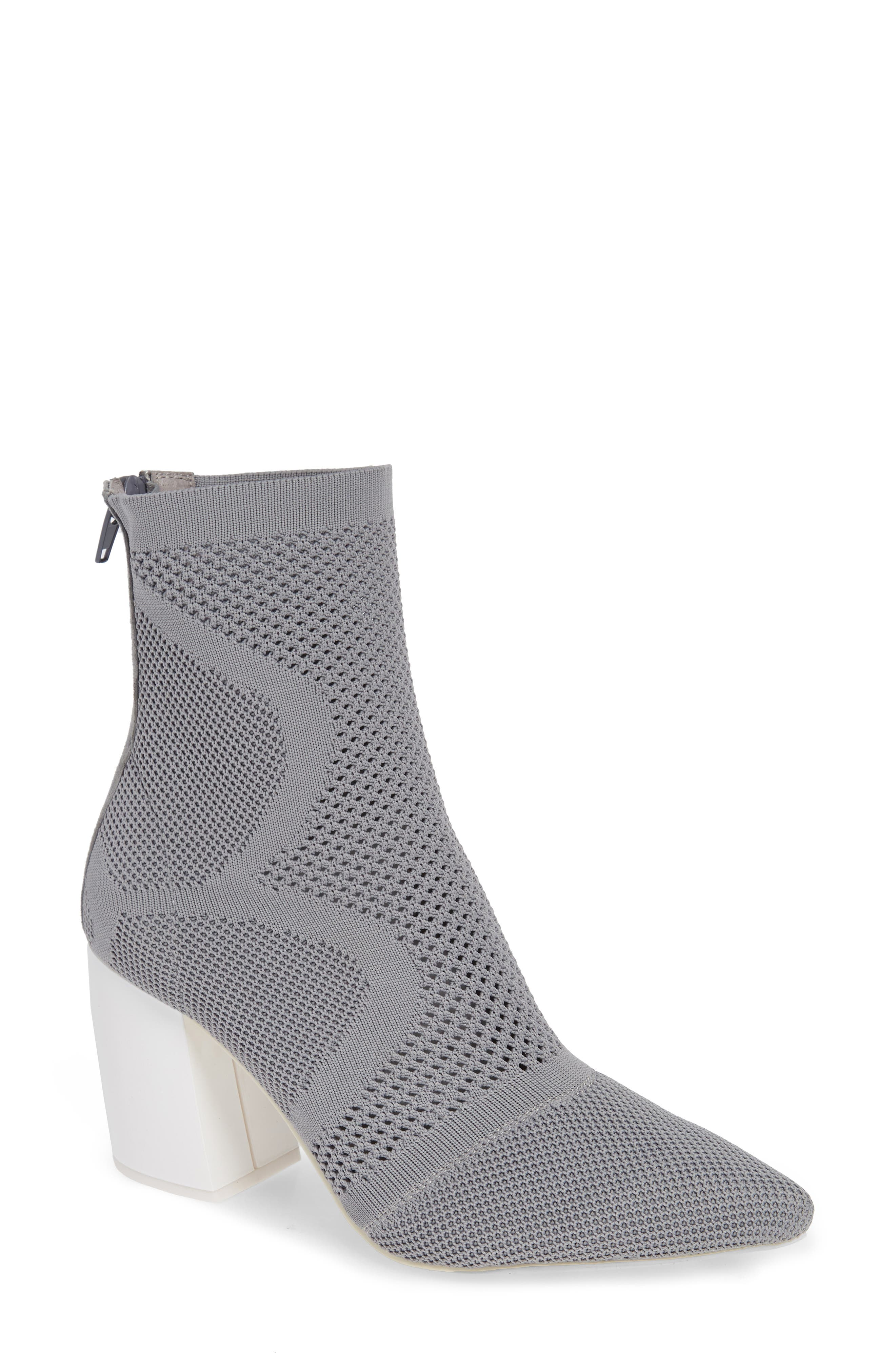 Final Bootie,                         Main,                         color, GREY WHITE
