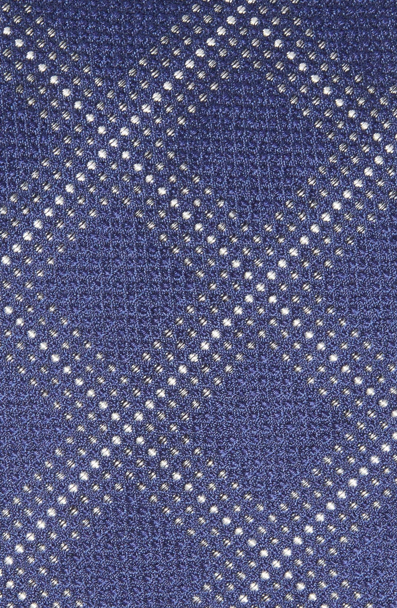 Grid Silk Blend Tie,                             Alternate thumbnail 5, color,