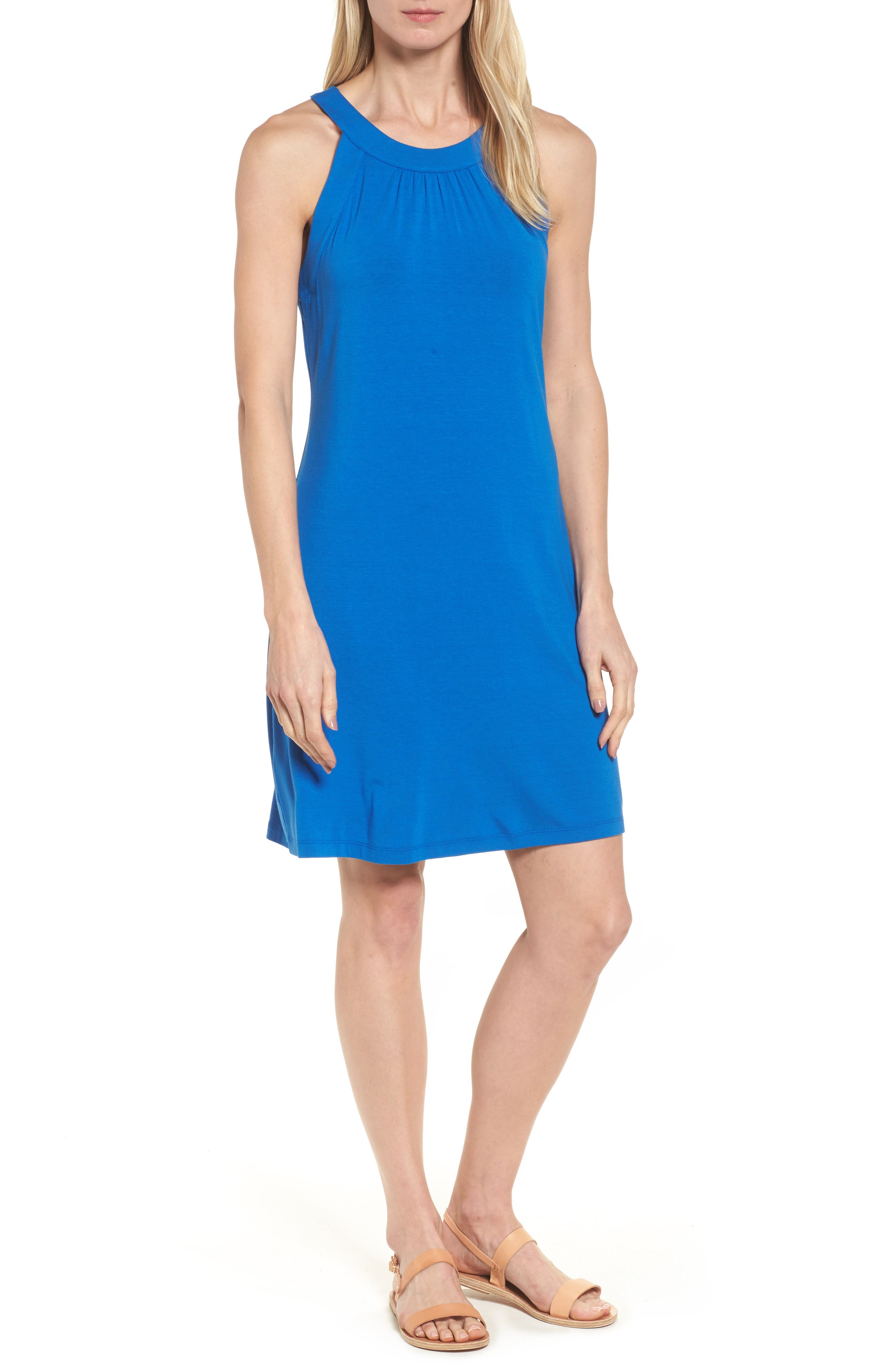 Tommy Bahama Tambour Tank Dress, Blue