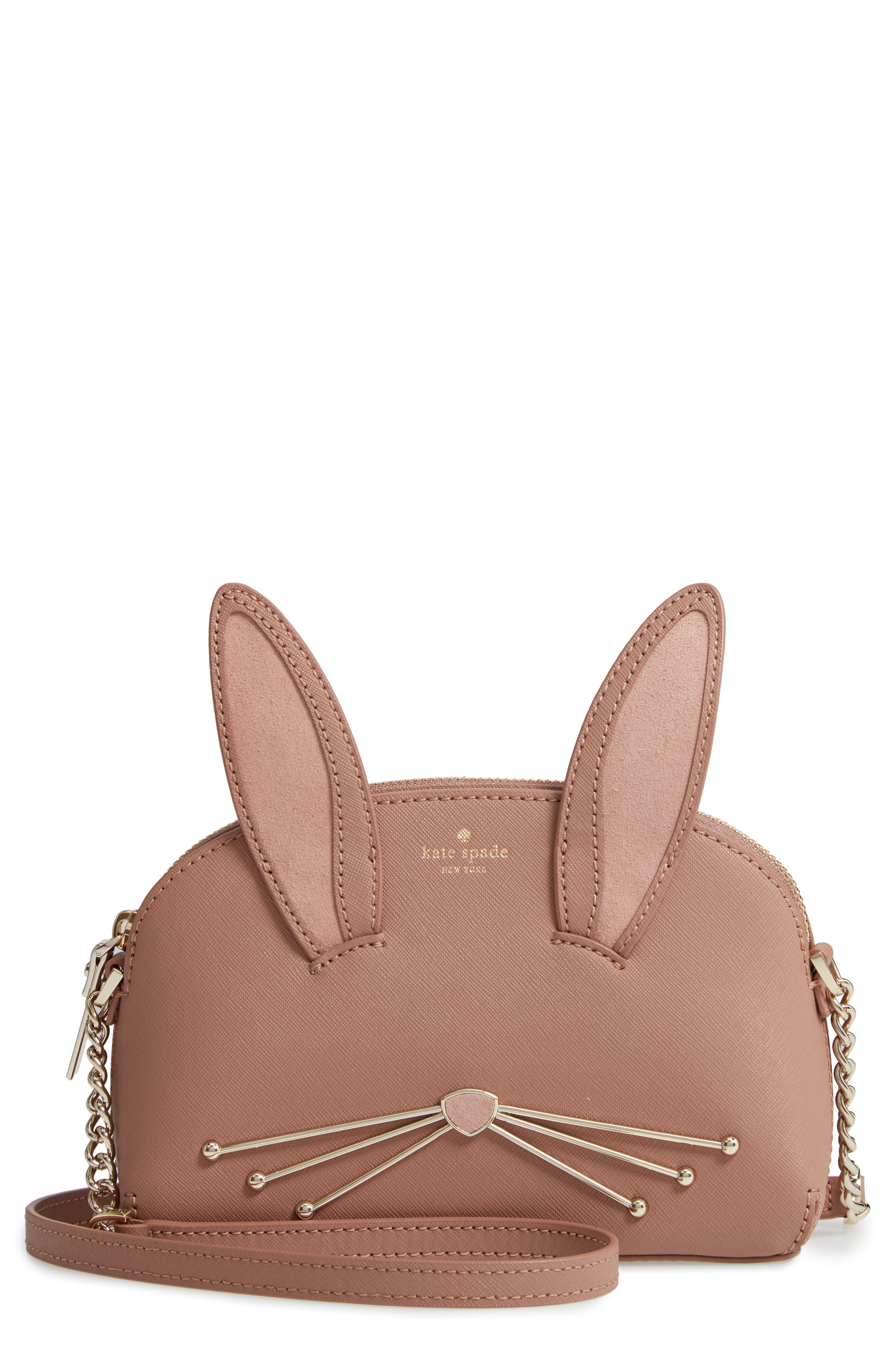 KATE SPADE NEW YORK desert muse rabbit hilli bag, Main, color, 200