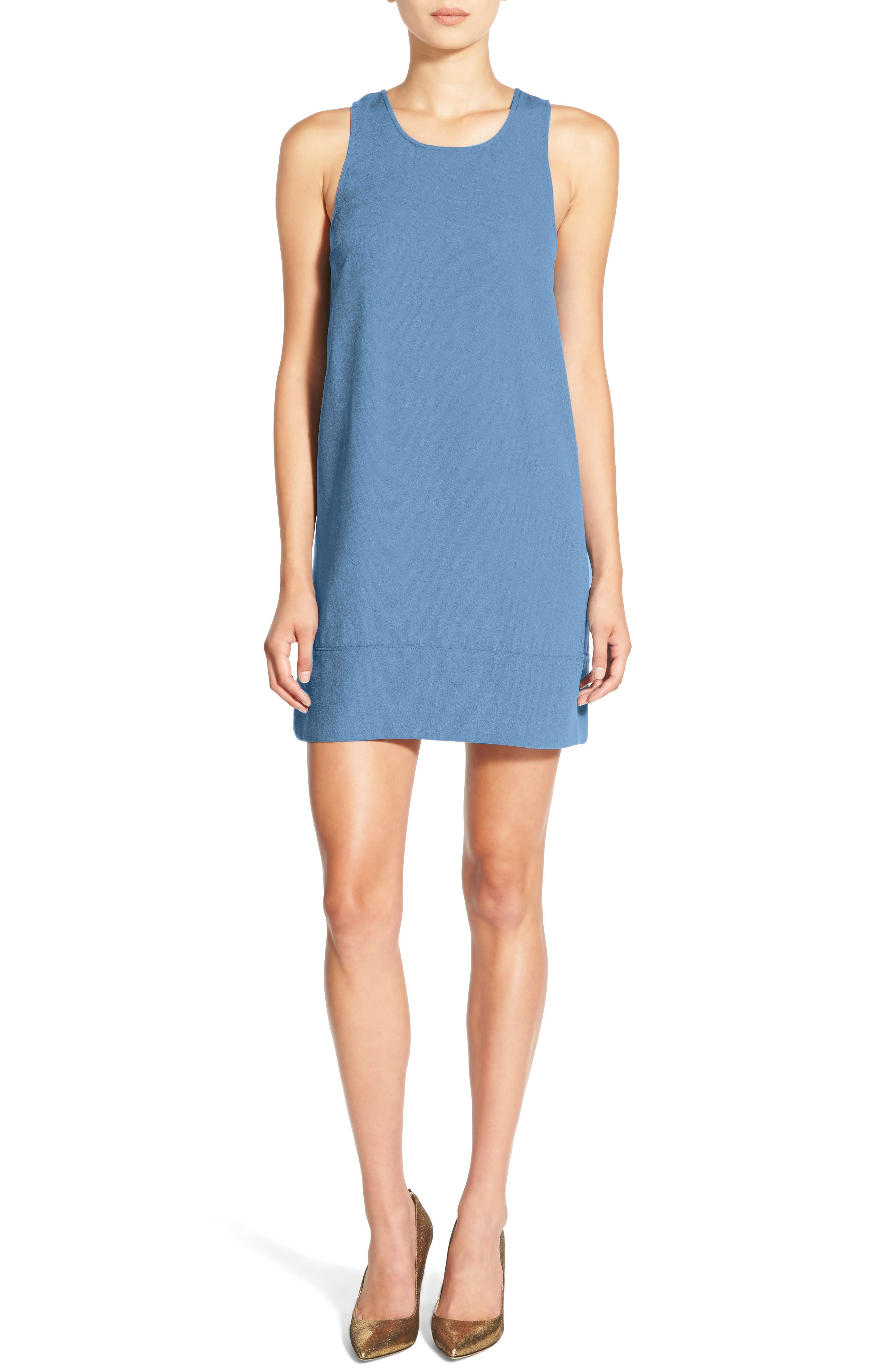 Racerback Shift Dress,                             Alternate thumbnail 72, color,