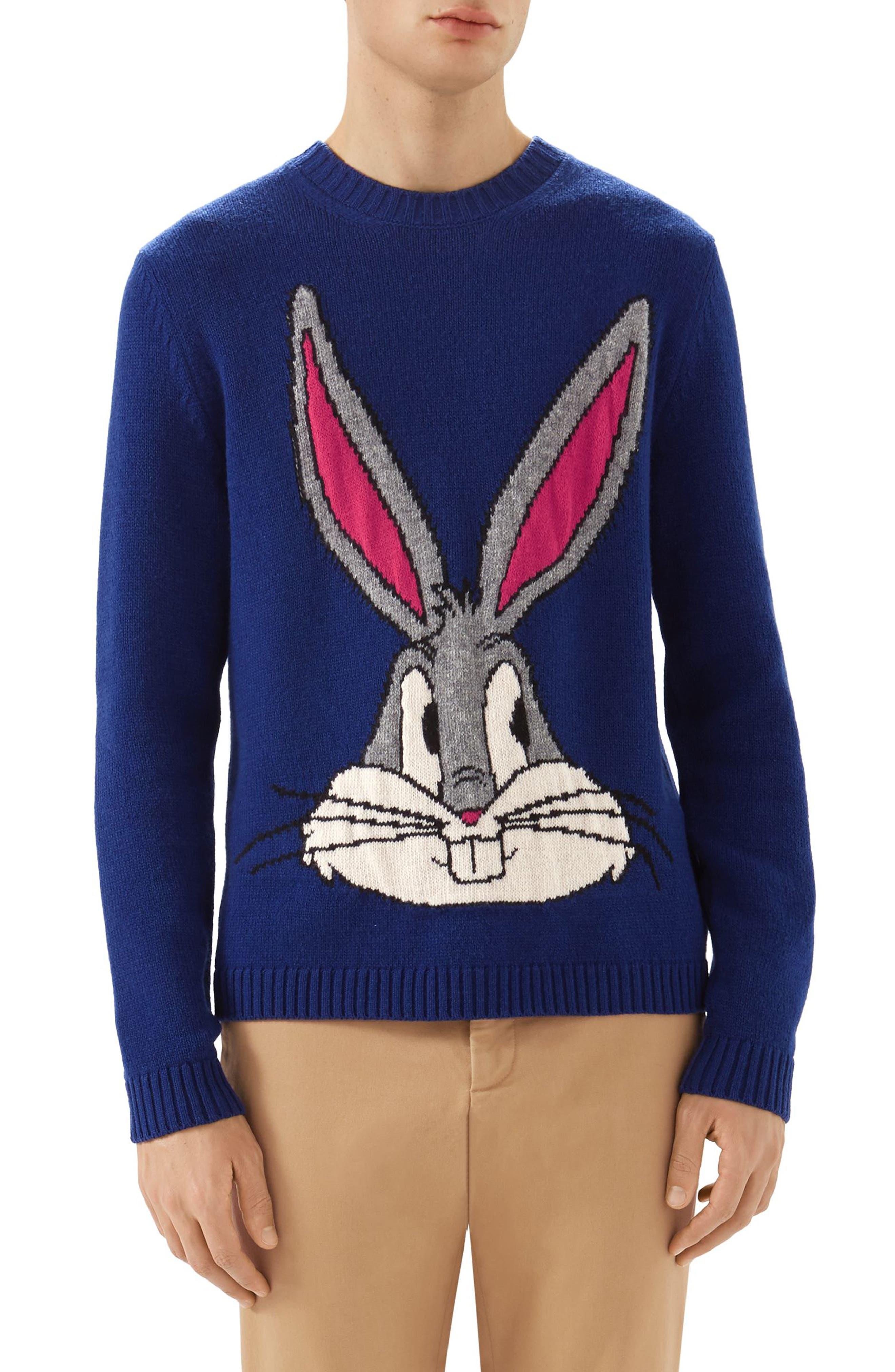 Bugs Bunny Wool Sweater,                             Main thumbnail 1, color,                             493