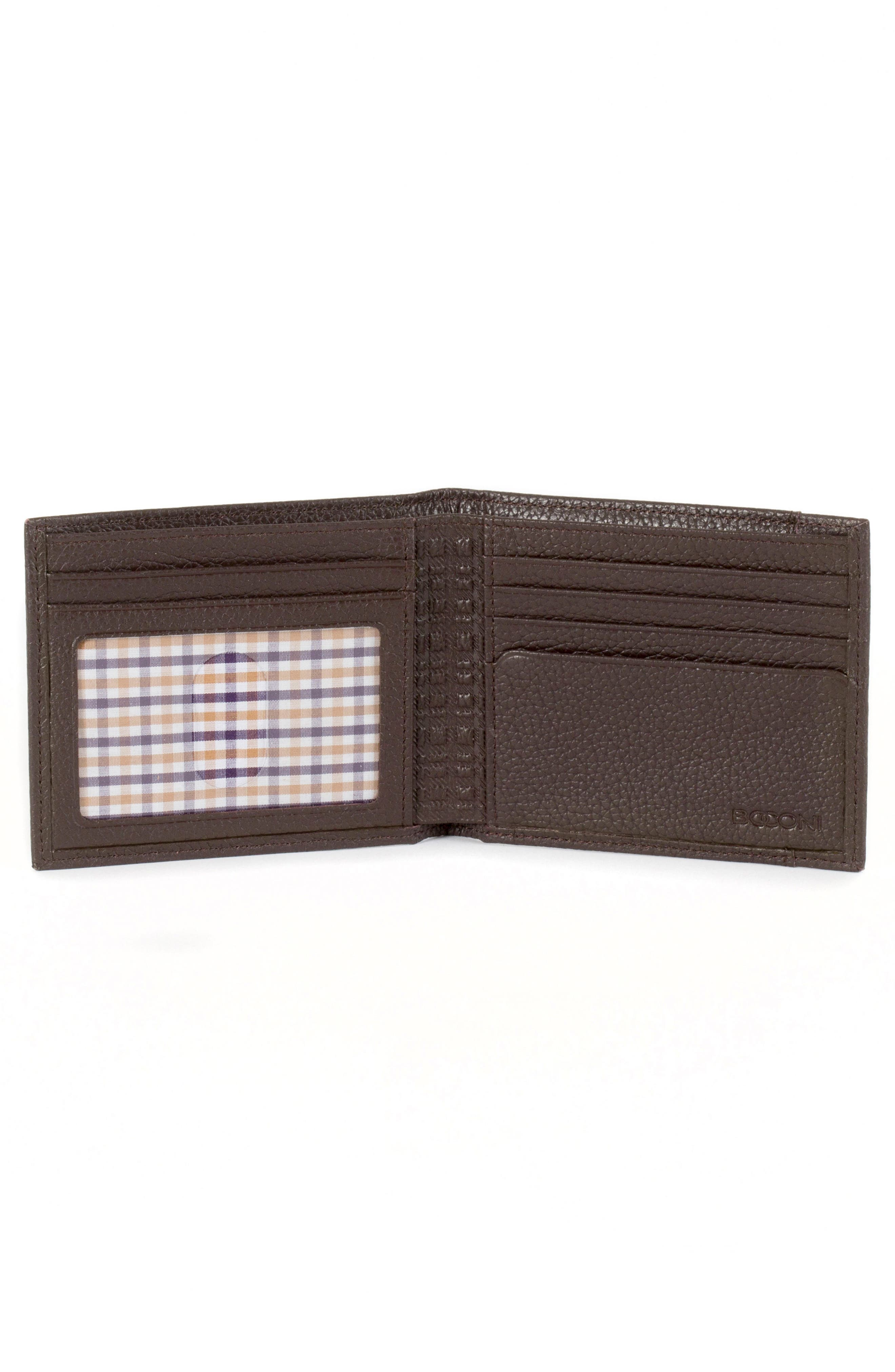 Garth Leather Bifold Wallet,                             Alternate thumbnail 4, color,
