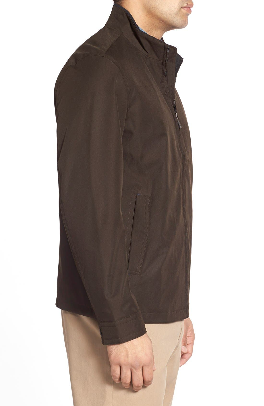 Waterproof & Windproof Bomber,                             Alternate thumbnail 17, color,