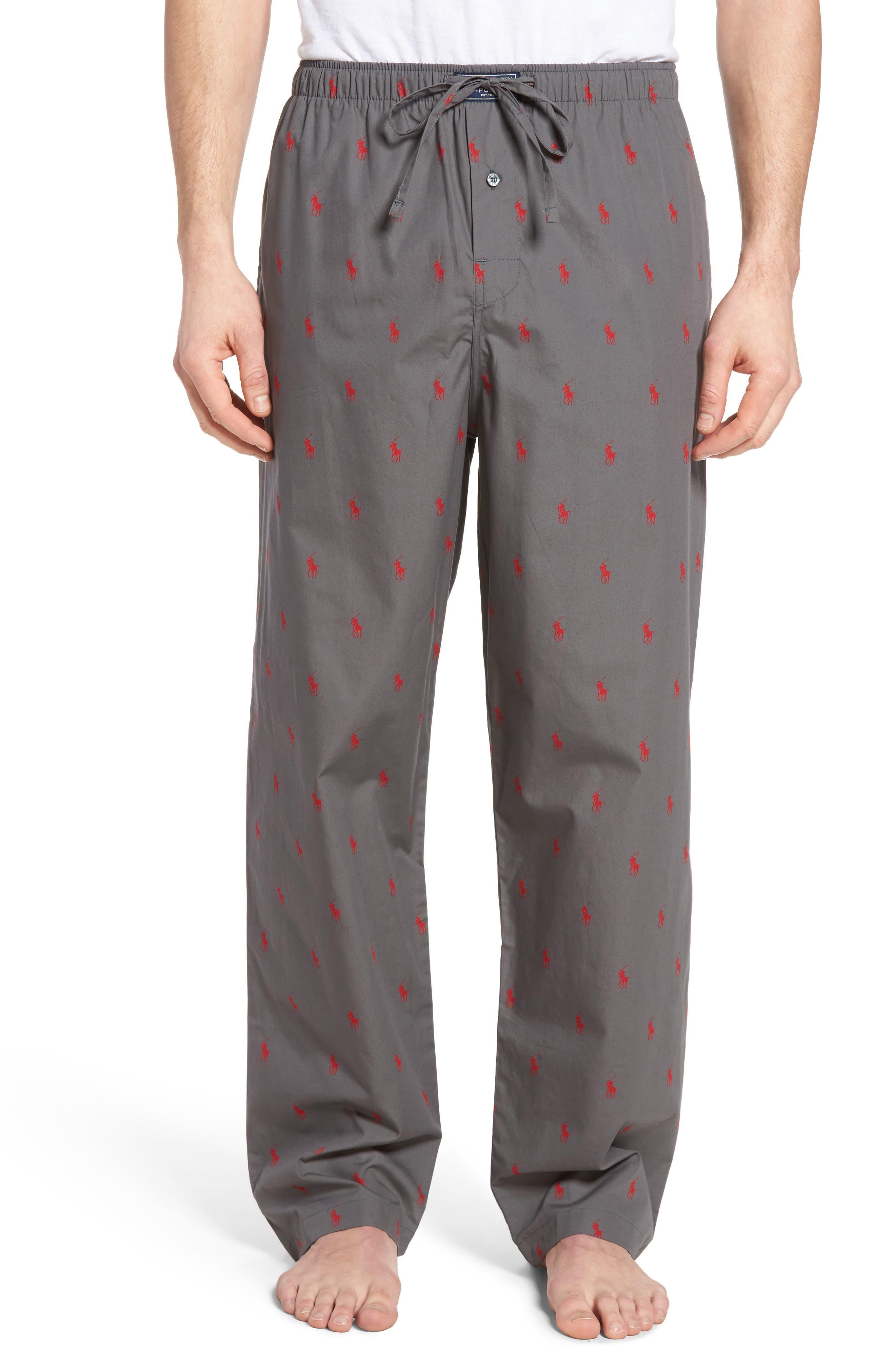 Cotton Lounge Pants,                             Main thumbnail 4, color,