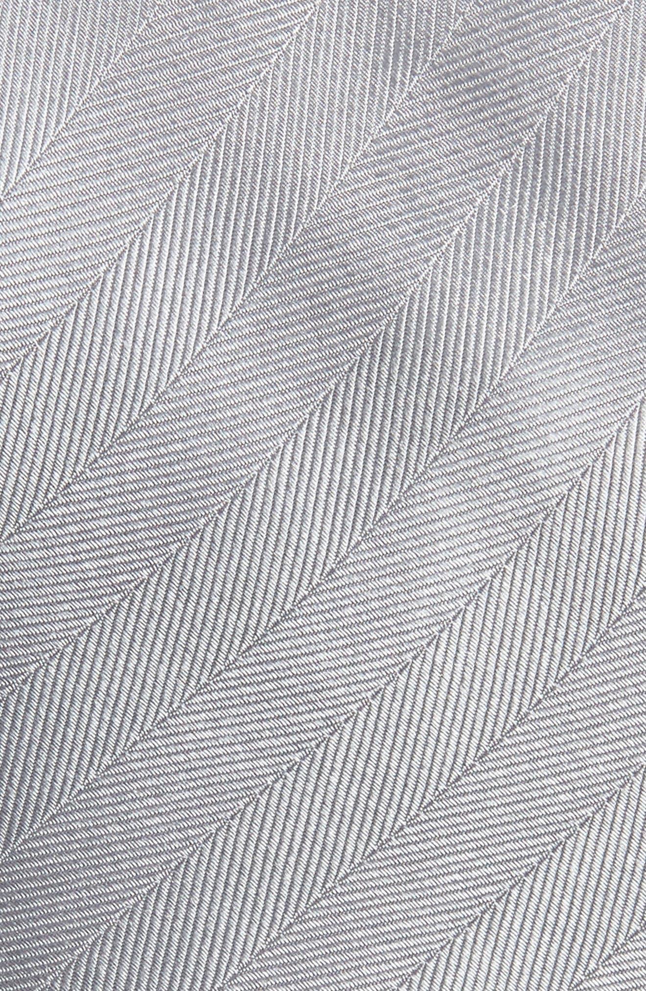 Herringbone Silk Tie,                             Alternate thumbnail 9, color,