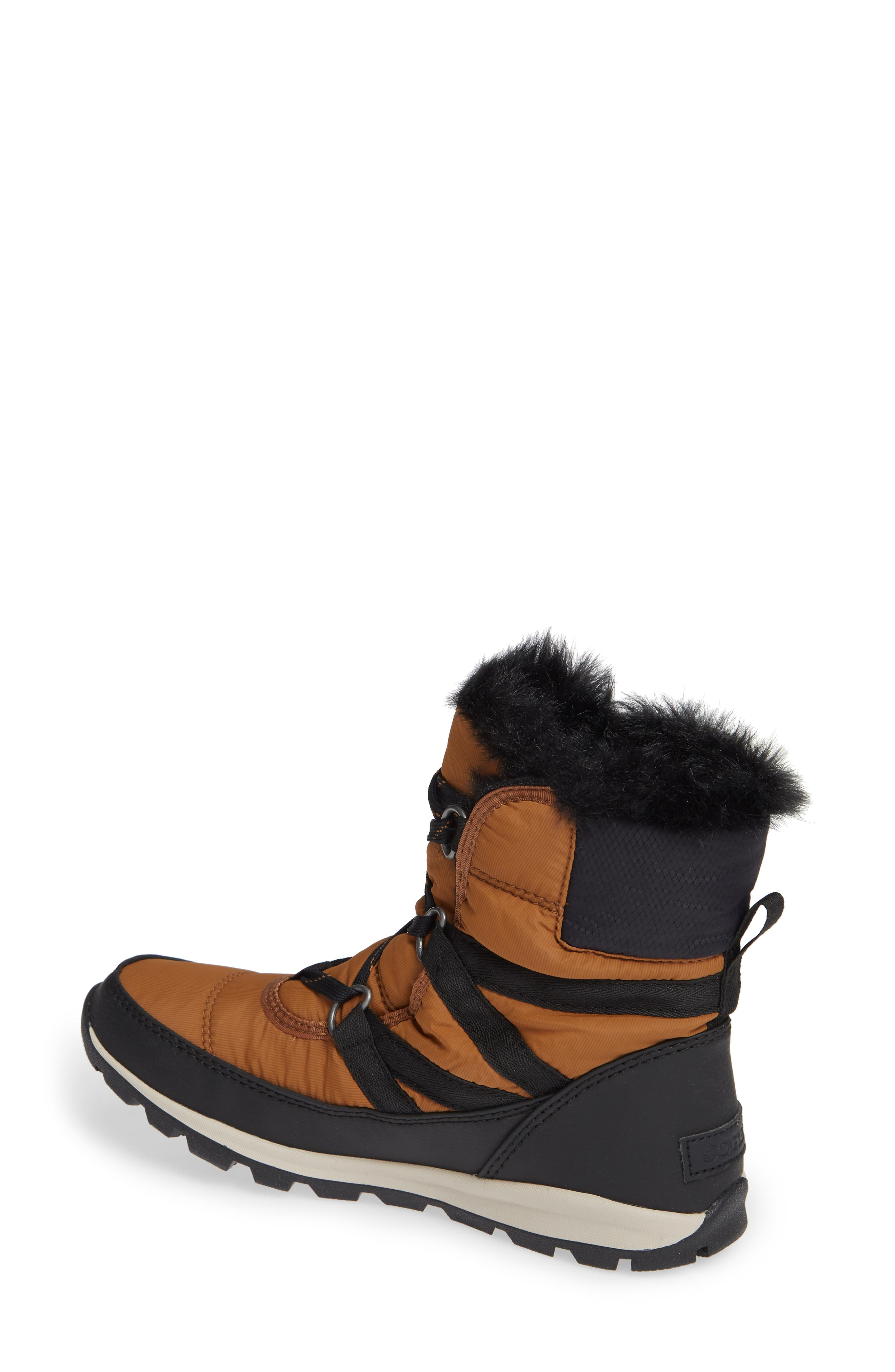 Whitney Snow Bootie,                             Alternate thumbnail 2, color,                             CAMEL BROWN