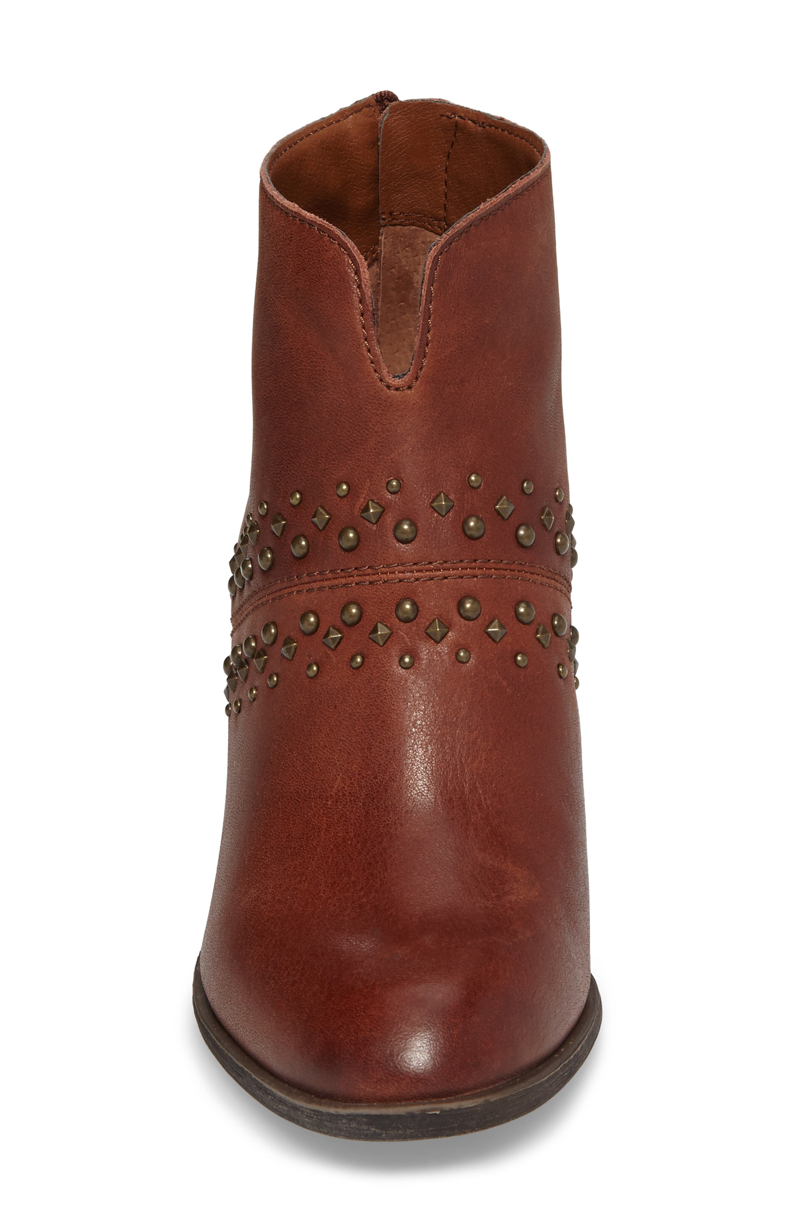 Sancha Studded Bootie,                             Alternate thumbnail 12, color,