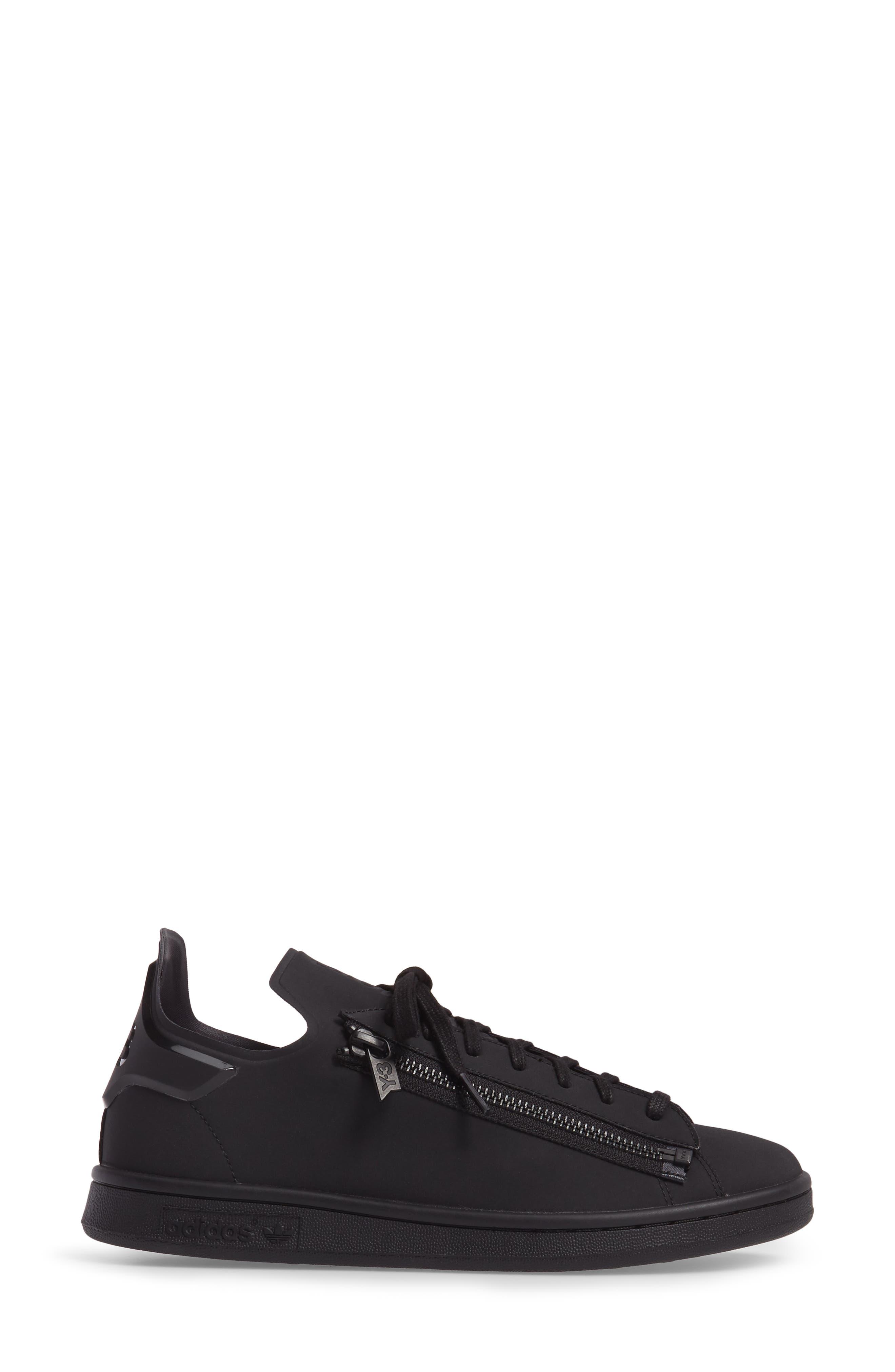 Stan Low Top Sneaker,                             Alternate thumbnail 3, color,                             001