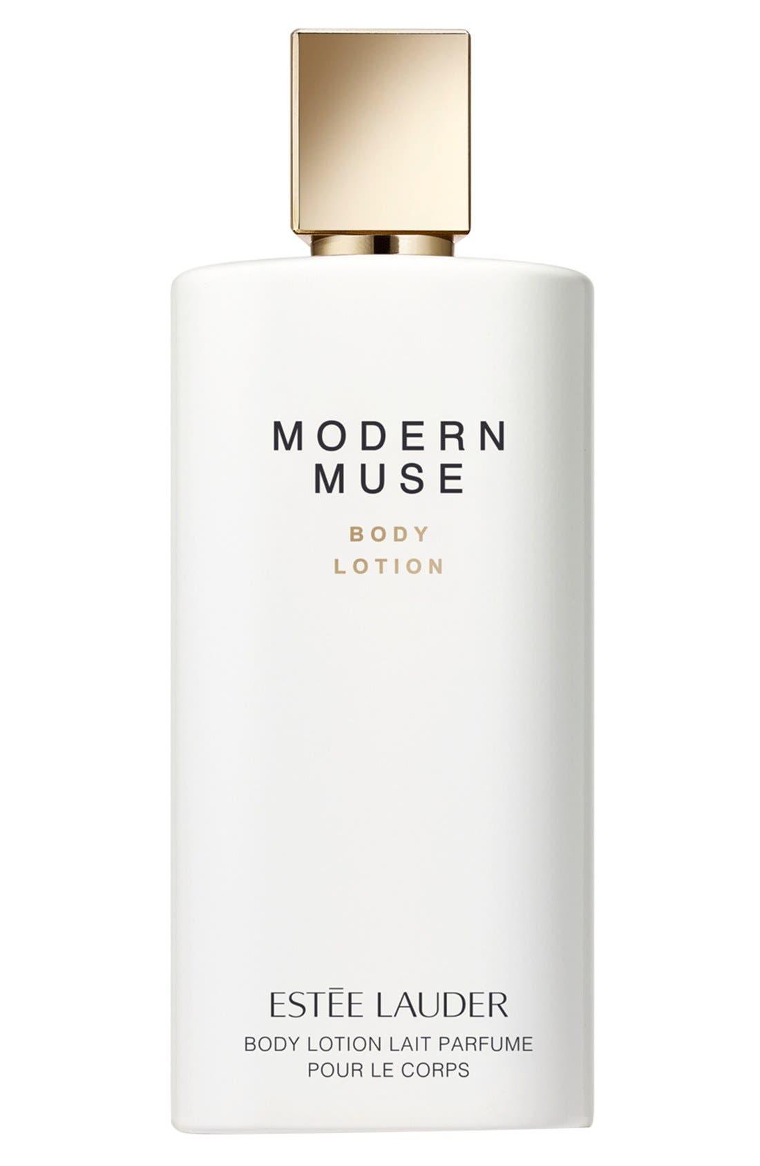 Modern Muse Body Lotion,                             Main thumbnail 1, color,                             NO COLOR