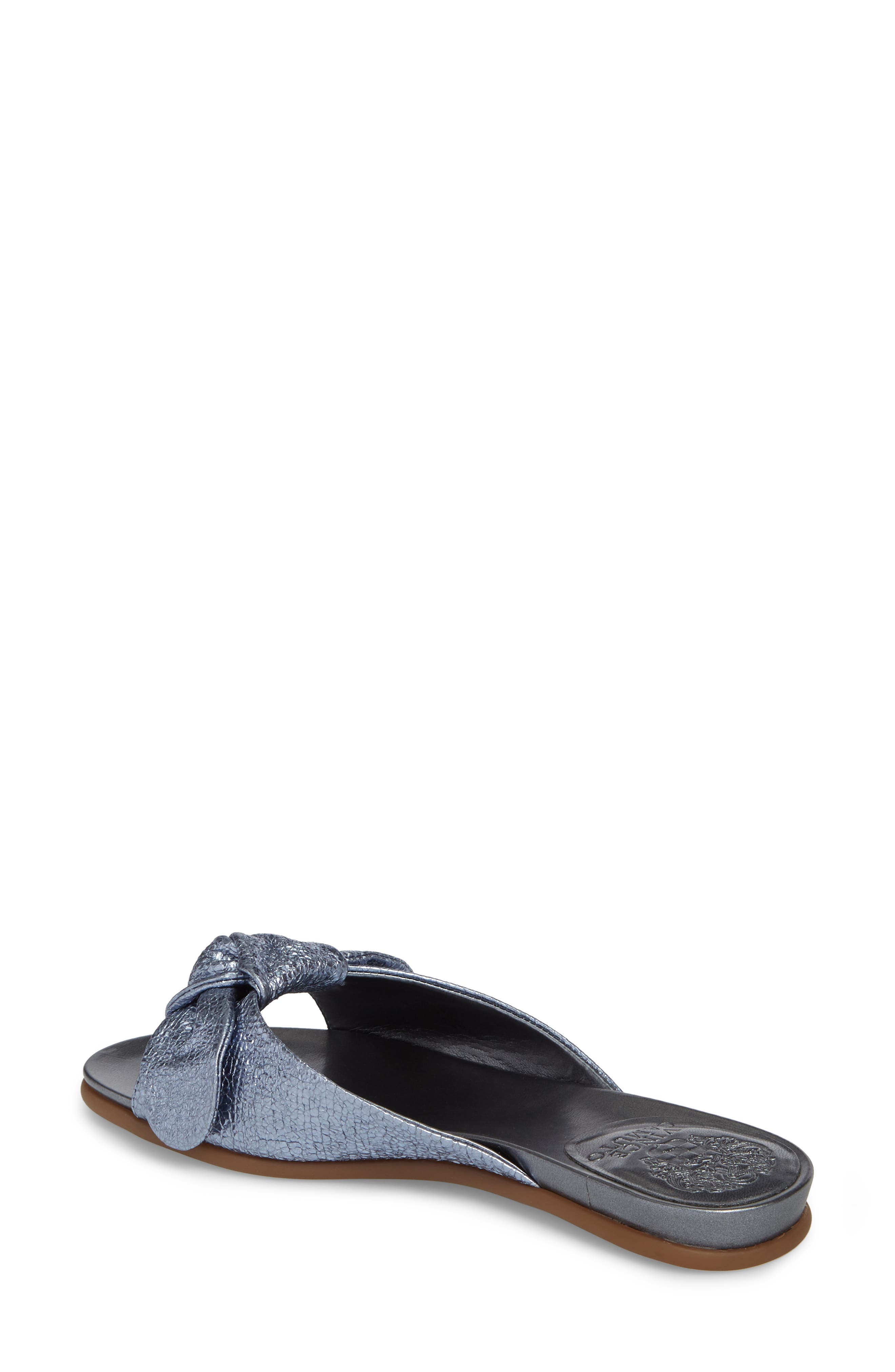 Ejella Slide Sandal,                             Alternate thumbnail 2, color,                             COOL BLUE FABRIC