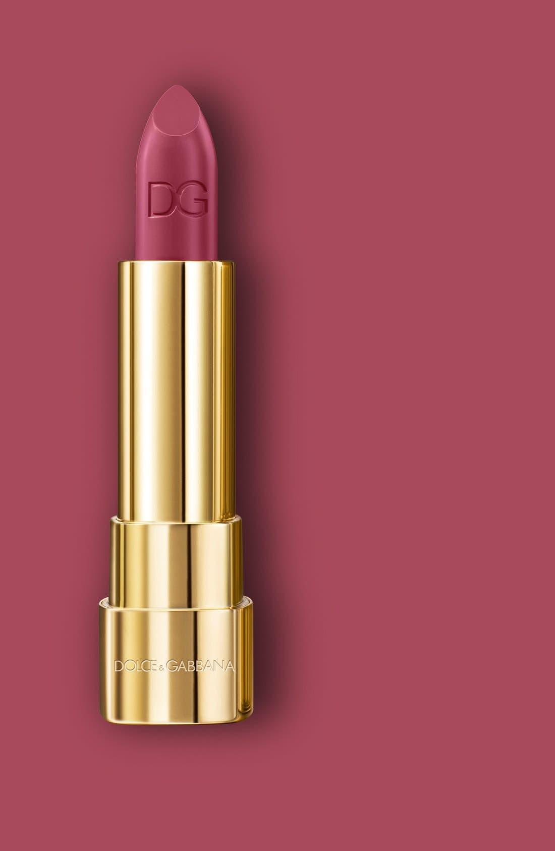 DOLCE&GABBANA BEAUTY,                             Dolce&GabbanaBeauty 'Shine -Sophia Loren N°1' Lipstick,                             Alternate thumbnail 3, color,                             600