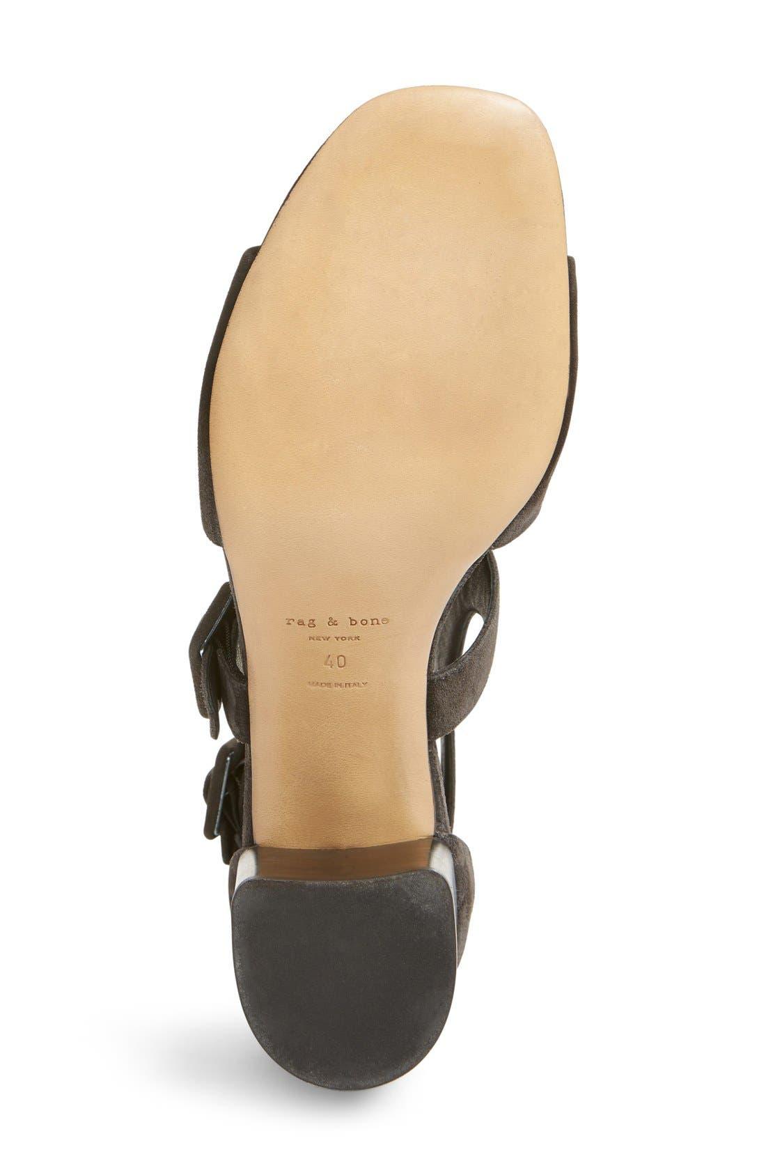 Matteo Block Heel Sandal,                             Alternate thumbnail 3, color,                             021