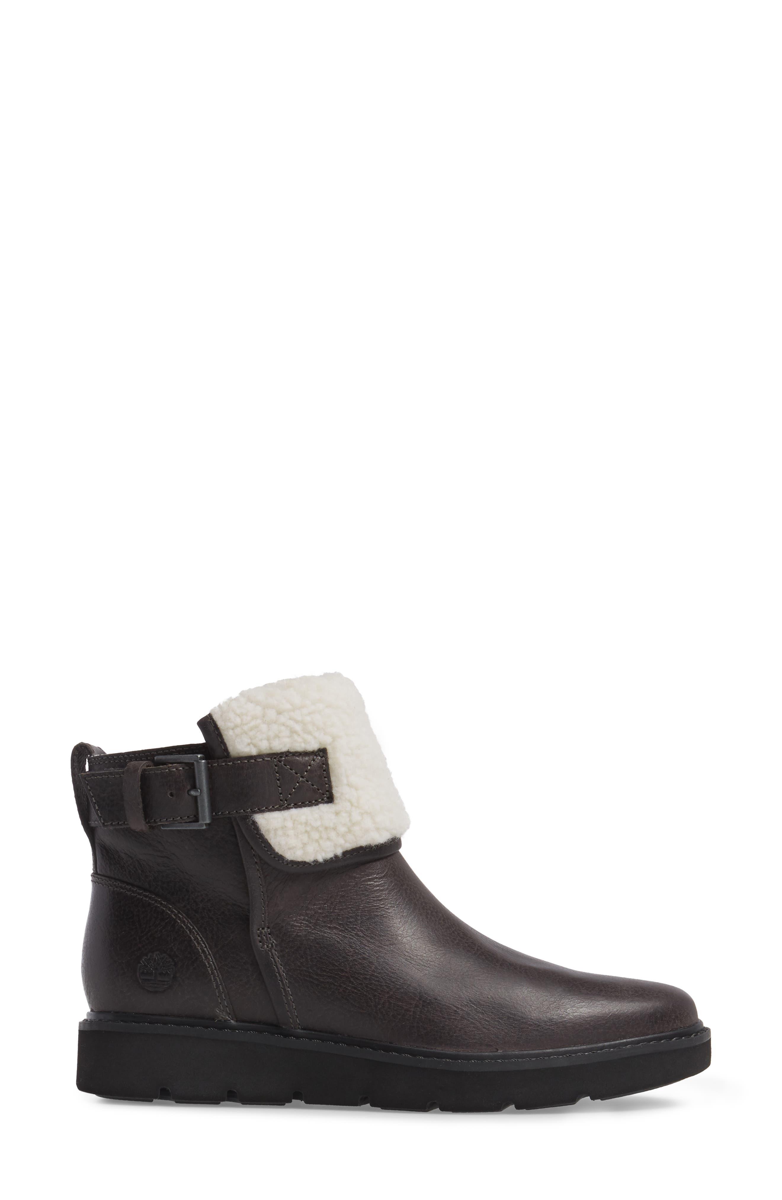 Kenniston Fleece Lined Boot,                             Alternate thumbnail 3, color,                             021