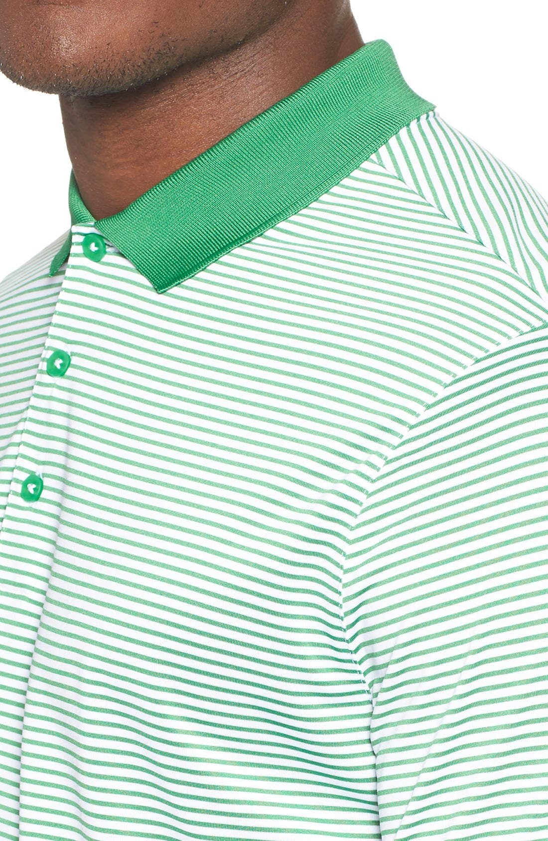 'Victory Stripe' Dri-FIT Golf Polo,                             Alternate thumbnail 34, color,