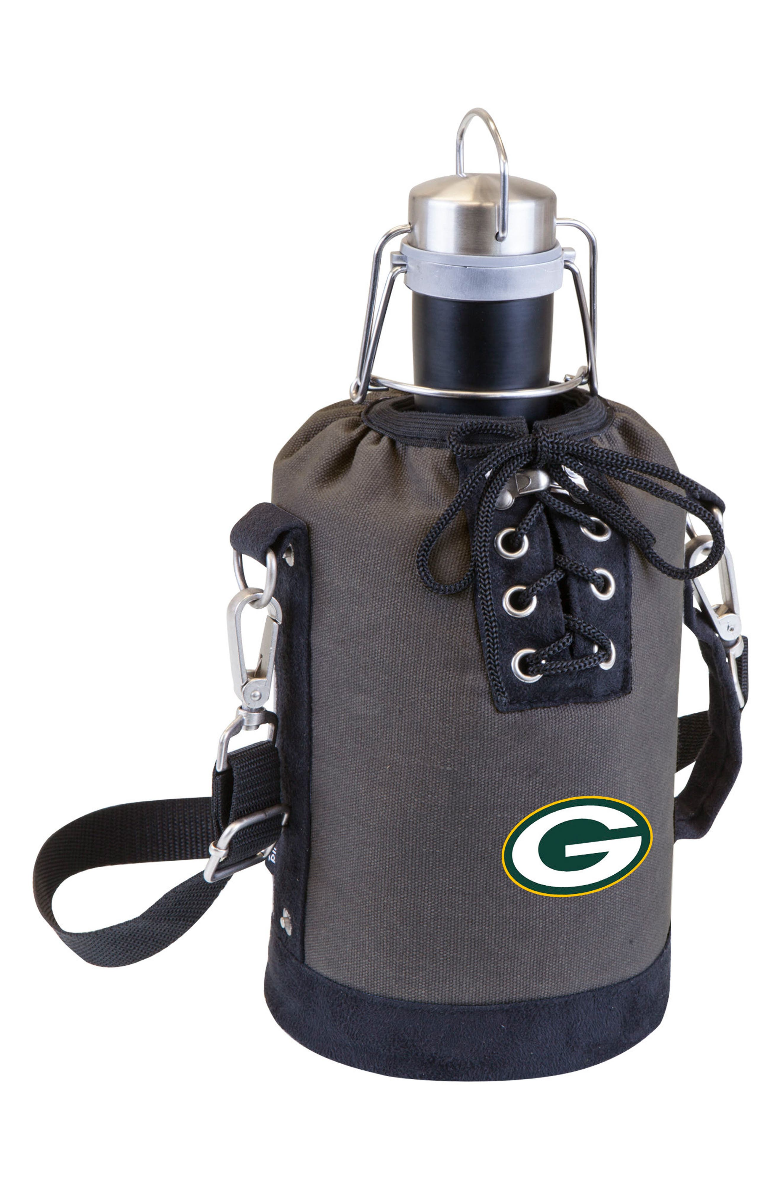 NFL Team Logo Tote & Stainless Steel Growler,                             Main thumbnail 12, color,