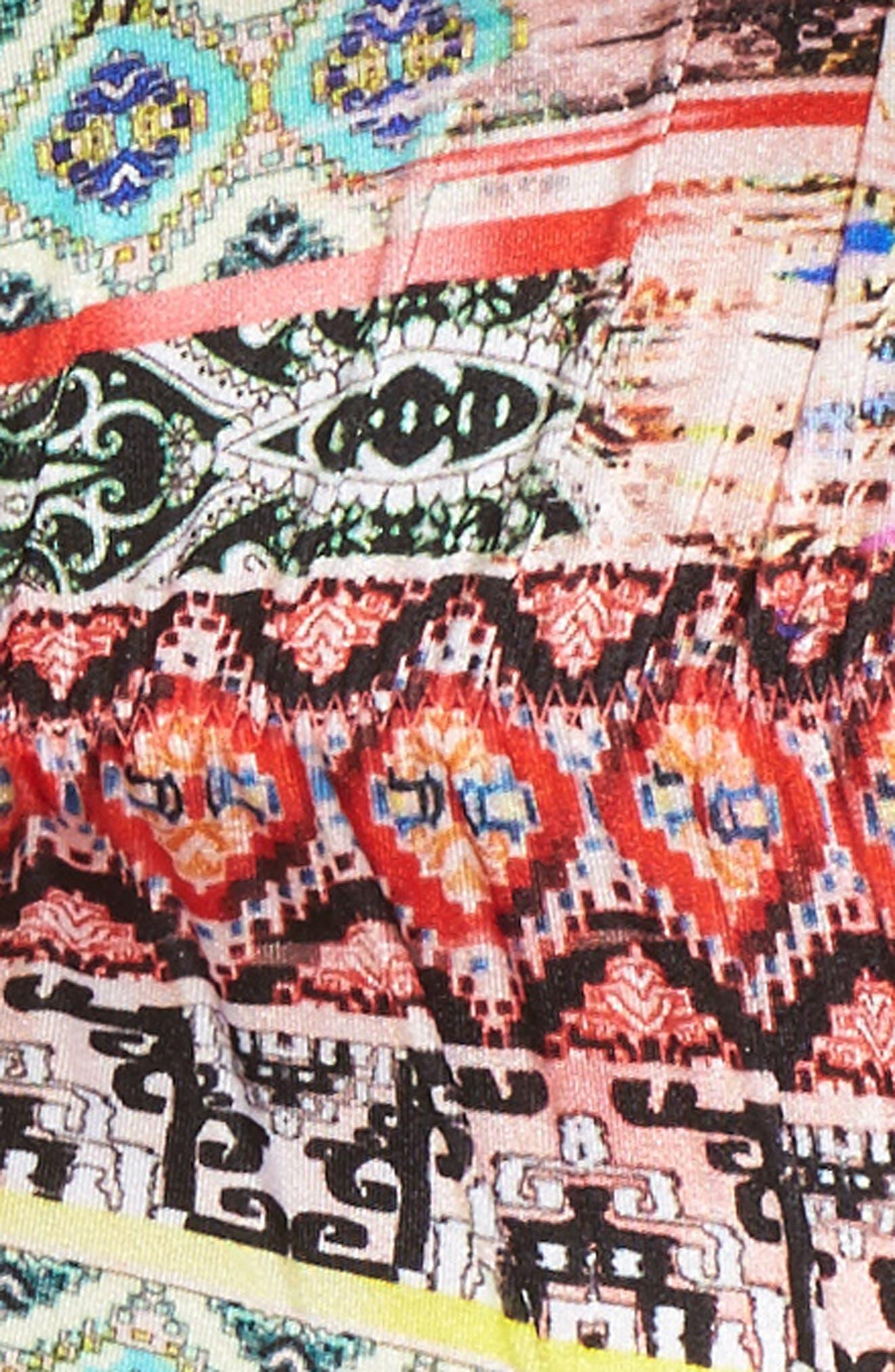 Embellished Brazilian Bikini Bottoms,                             Alternate thumbnail 5, color,                             800