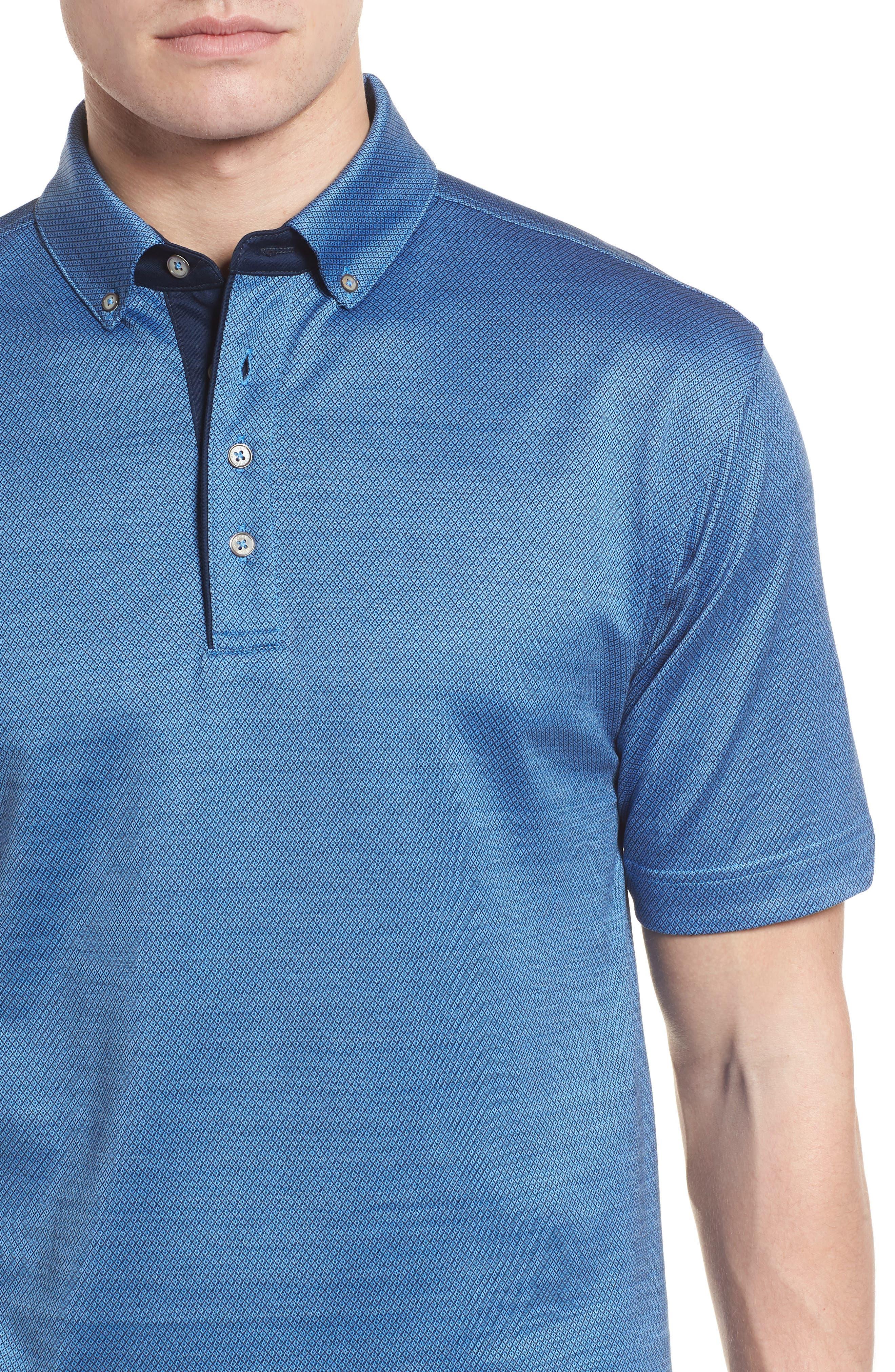 Mercerized Cotton Jacquard Polo,                             Alternate thumbnail 15, color,