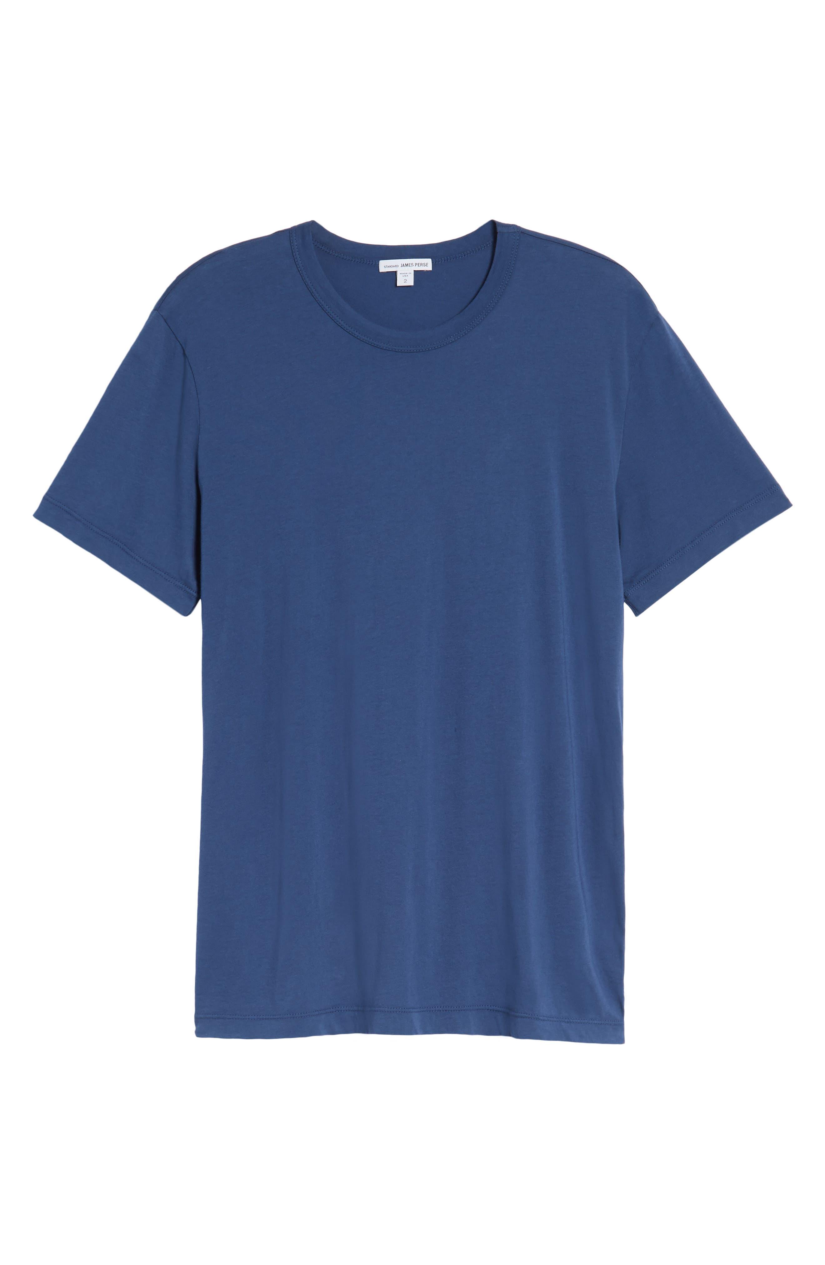 Crewneck Jersey T-Shirt,                             Alternate thumbnail 466, color,