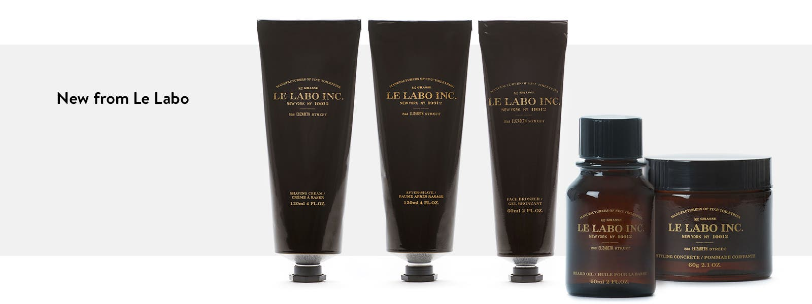 A new range of grooming products from Le Labo.