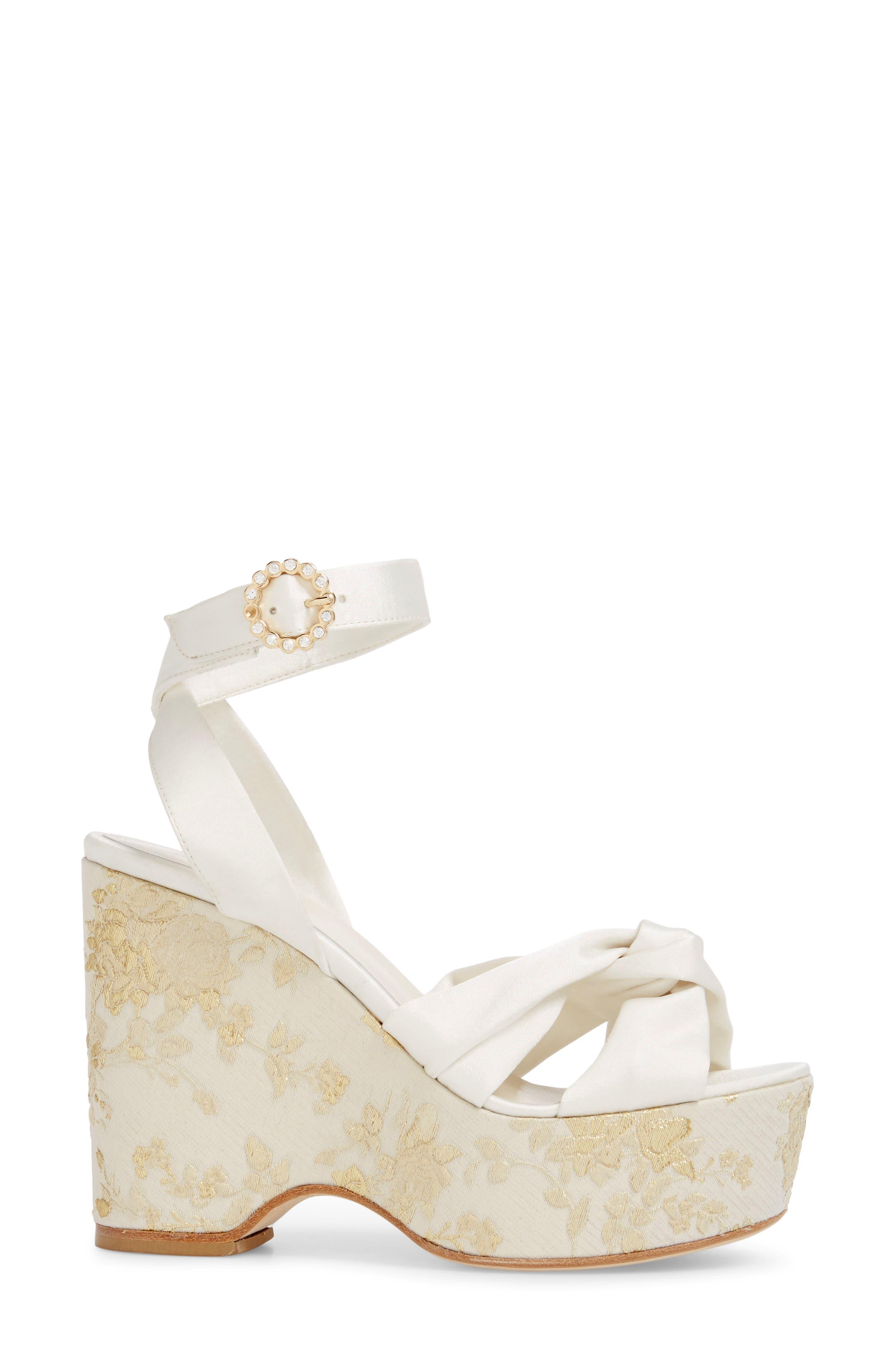 Serena Brocade Platform Sandal,                             Alternate thumbnail 12, color,