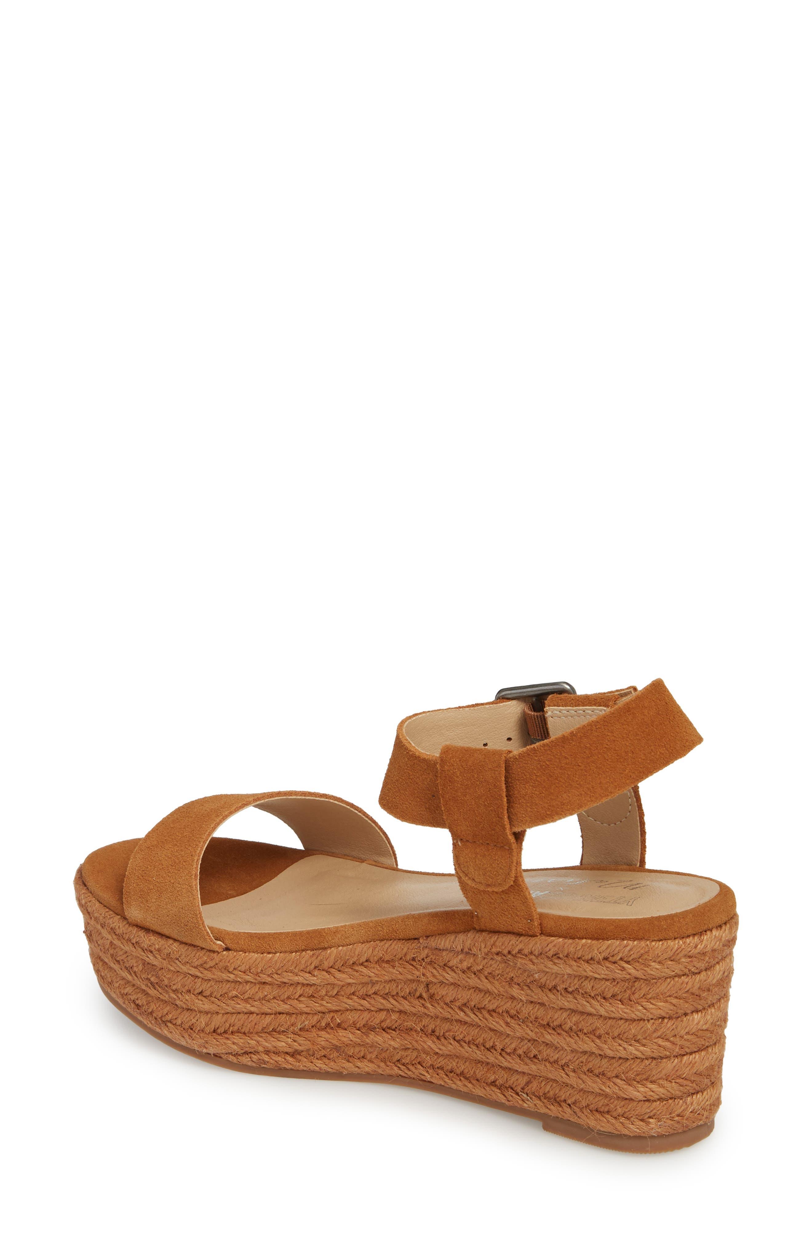 Amuse Society x Matisse Siena Wedge Sandal,                             Alternate thumbnail 5, color,