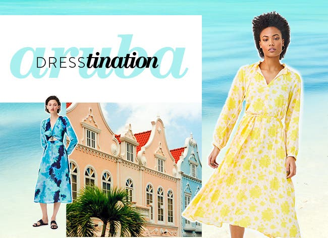 Dresstination Aruba: vacation dresses.