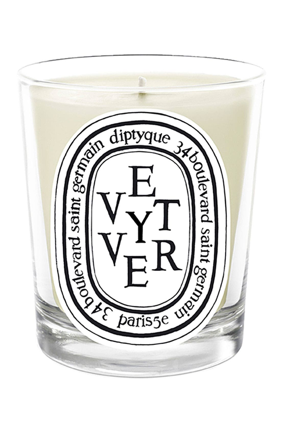 DIPTYQUE,                             'Vetyver' Scented Candle,                             Main thumbnail 1, color,                             000