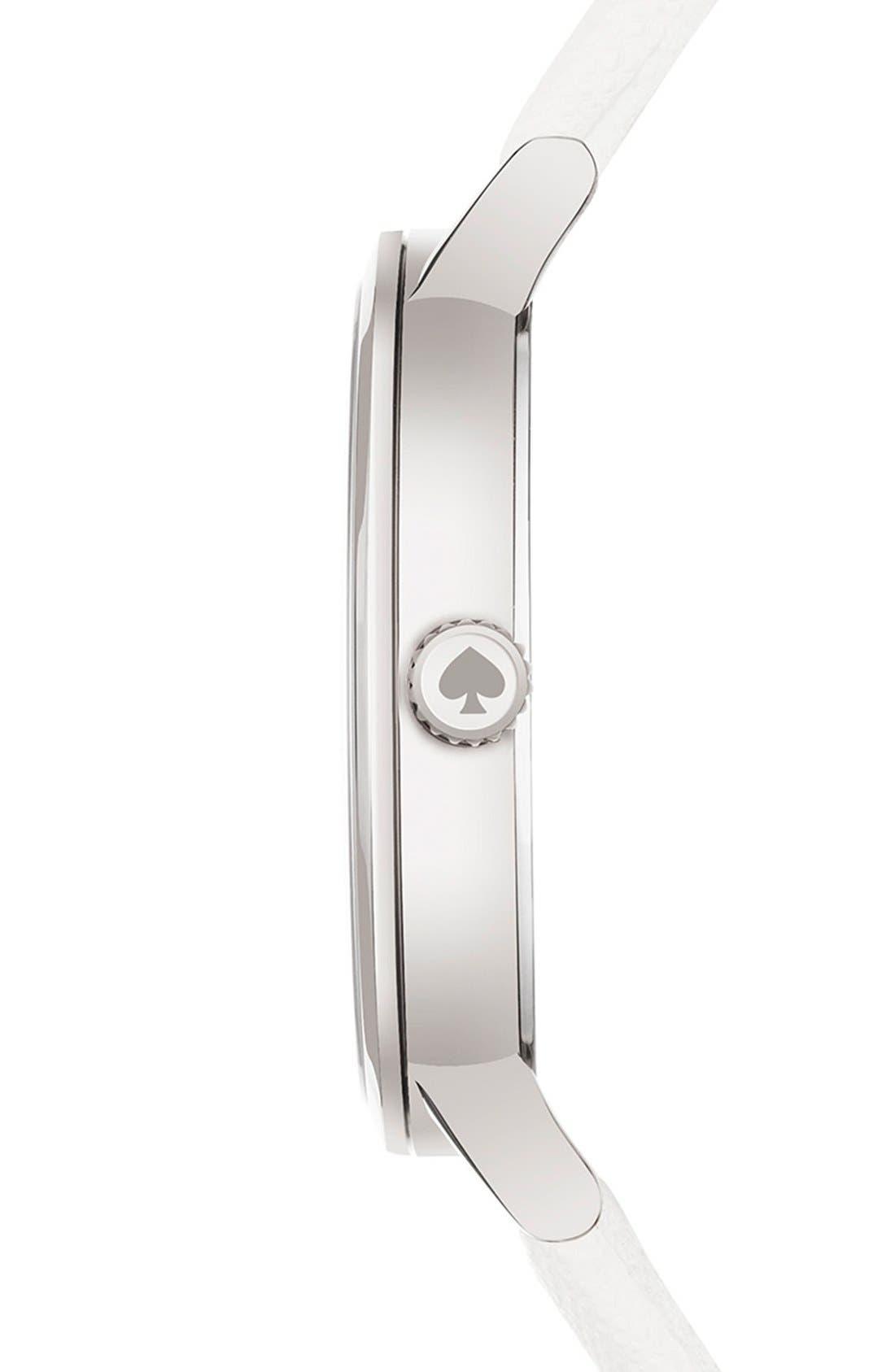 'metro' boxed dot dial watch & straps set, 34mm,                             Alternate thumbnail 2, color,                             100