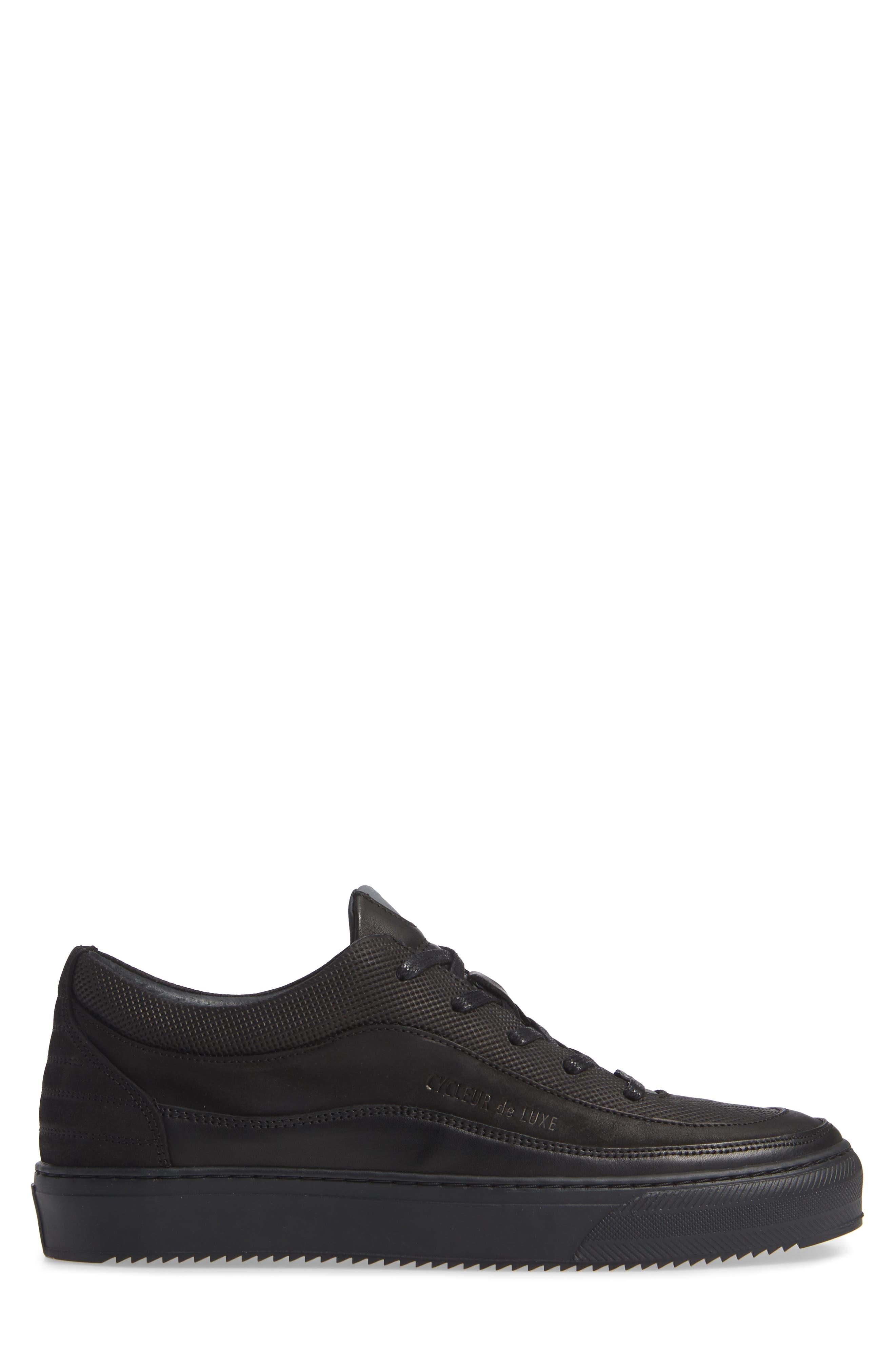 Bullet Sneaker,                             Alternate thumbnail 3, color,                             BLACK