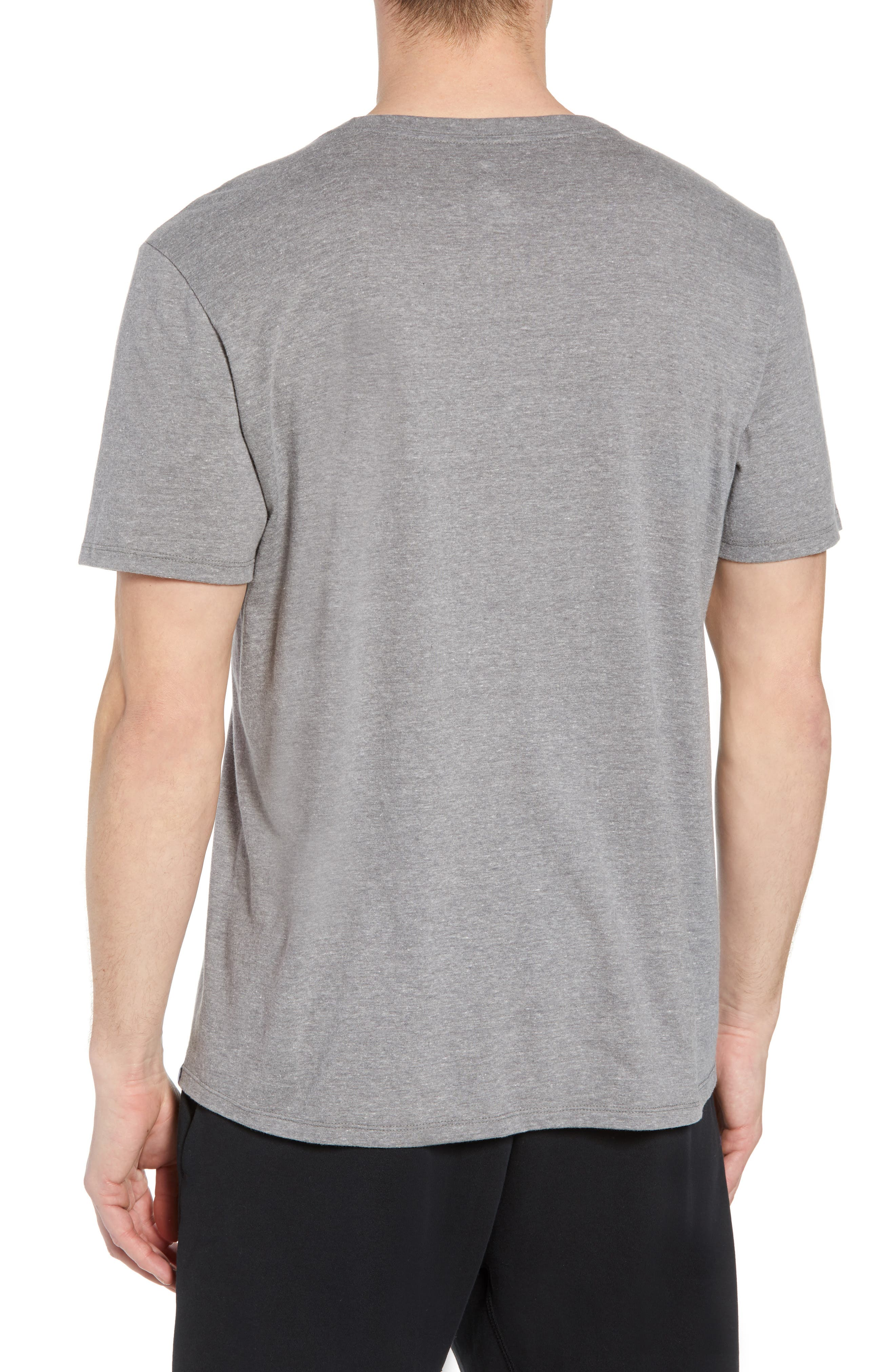 Nike Jumpman Tee,                             Alternate thumbnail 2, color,                             CARBON HEATHER