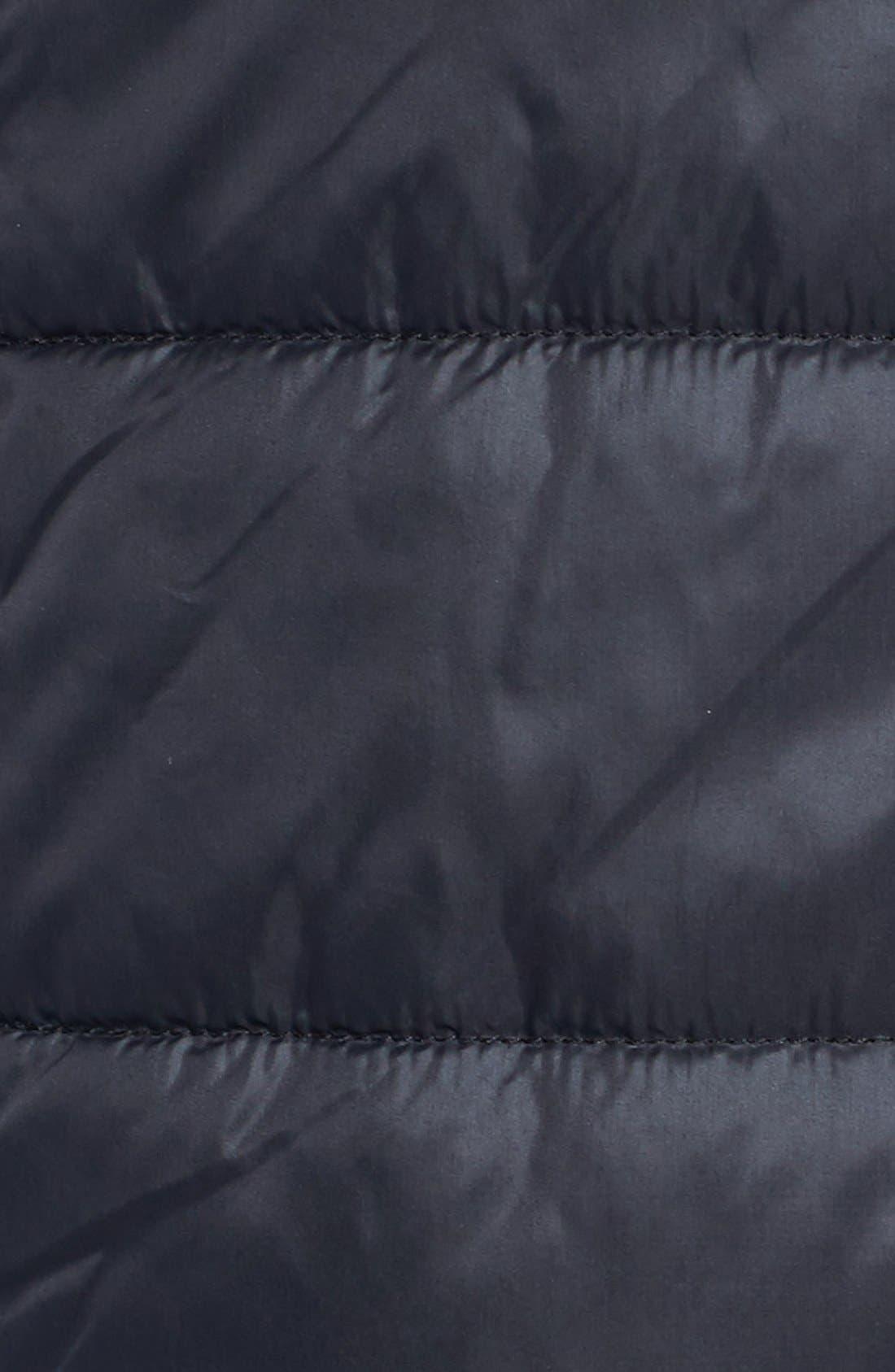 Hooded Faux Fur Lined Vest,                             Alternate thumbnail 5, color,                             013
